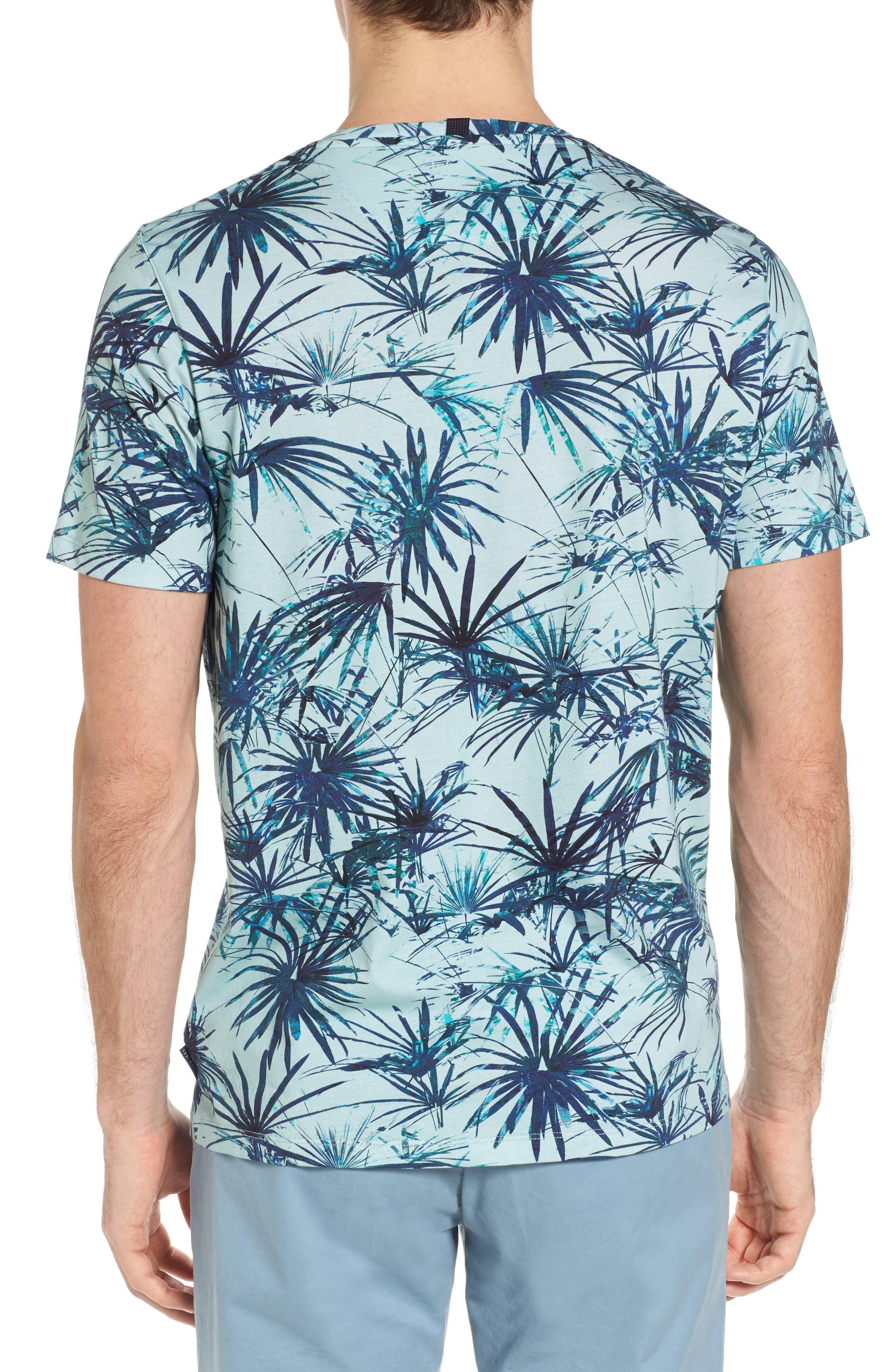 Yorkii Crewneck T-Shirt,                             Alternate thumbnail 2, color,                             Light Green