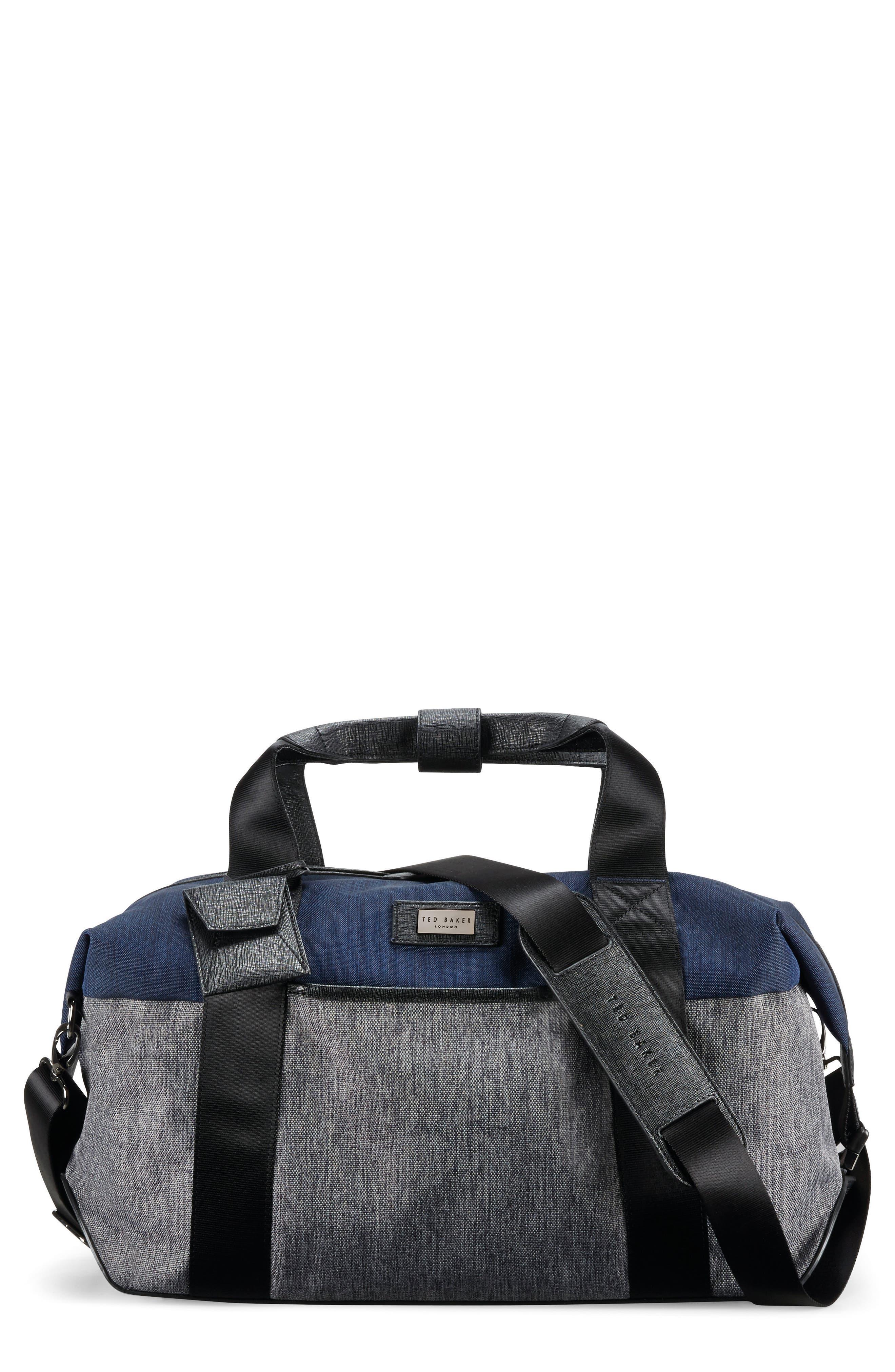 Alternate Image 1 Selected - Ted Baker London Small Brunswick Water Resistant Duffel Bag