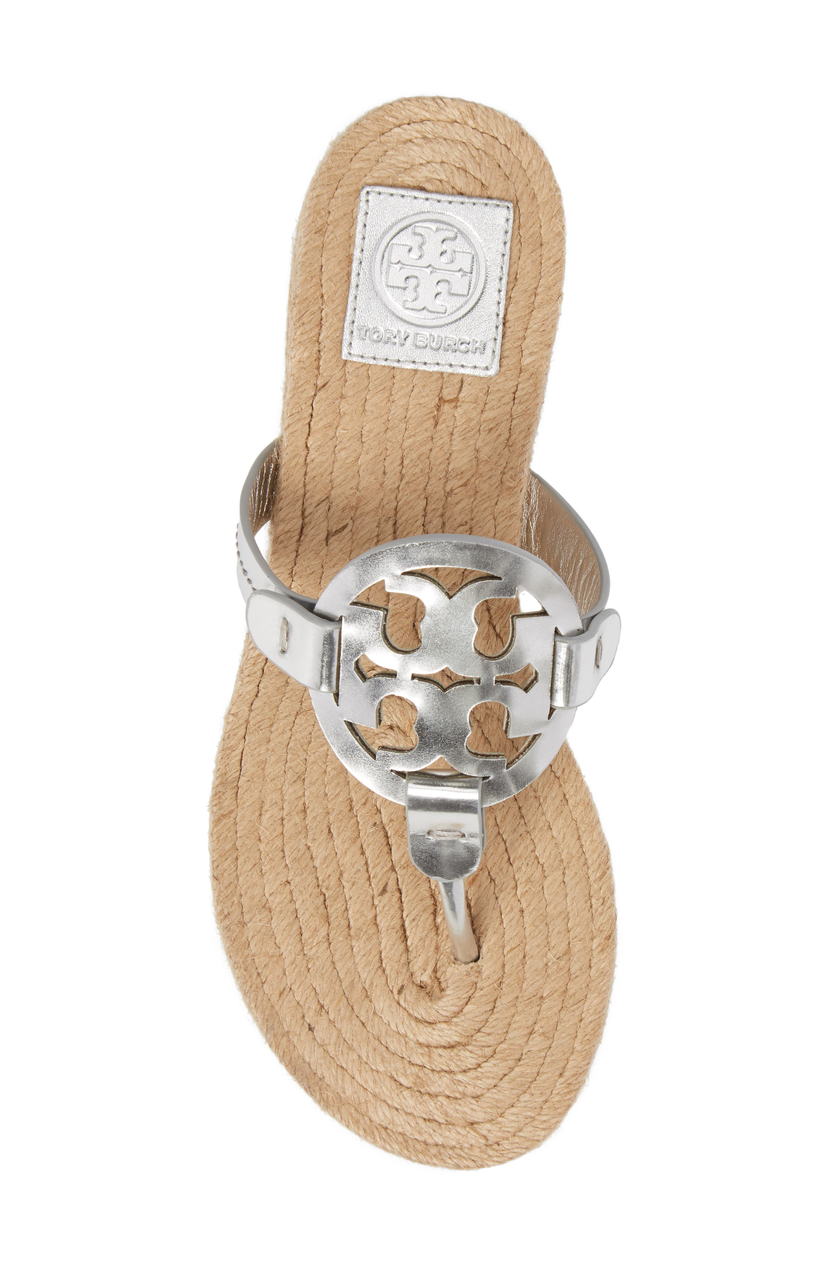 Alternate Image 5  - Tory Burch Miller Espadrille Sandal (Women)