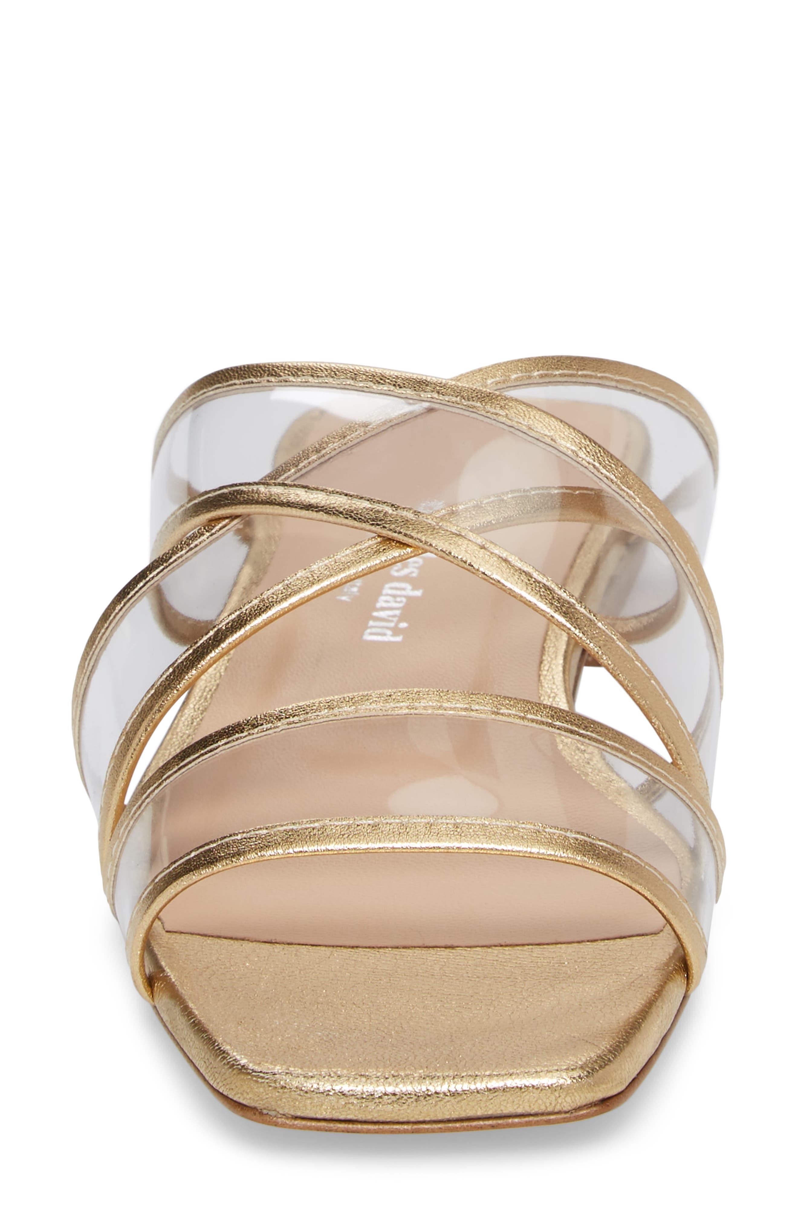 Alternate Image 4  - Charles David Drea Transparent Strap Slide Sandal (Women)