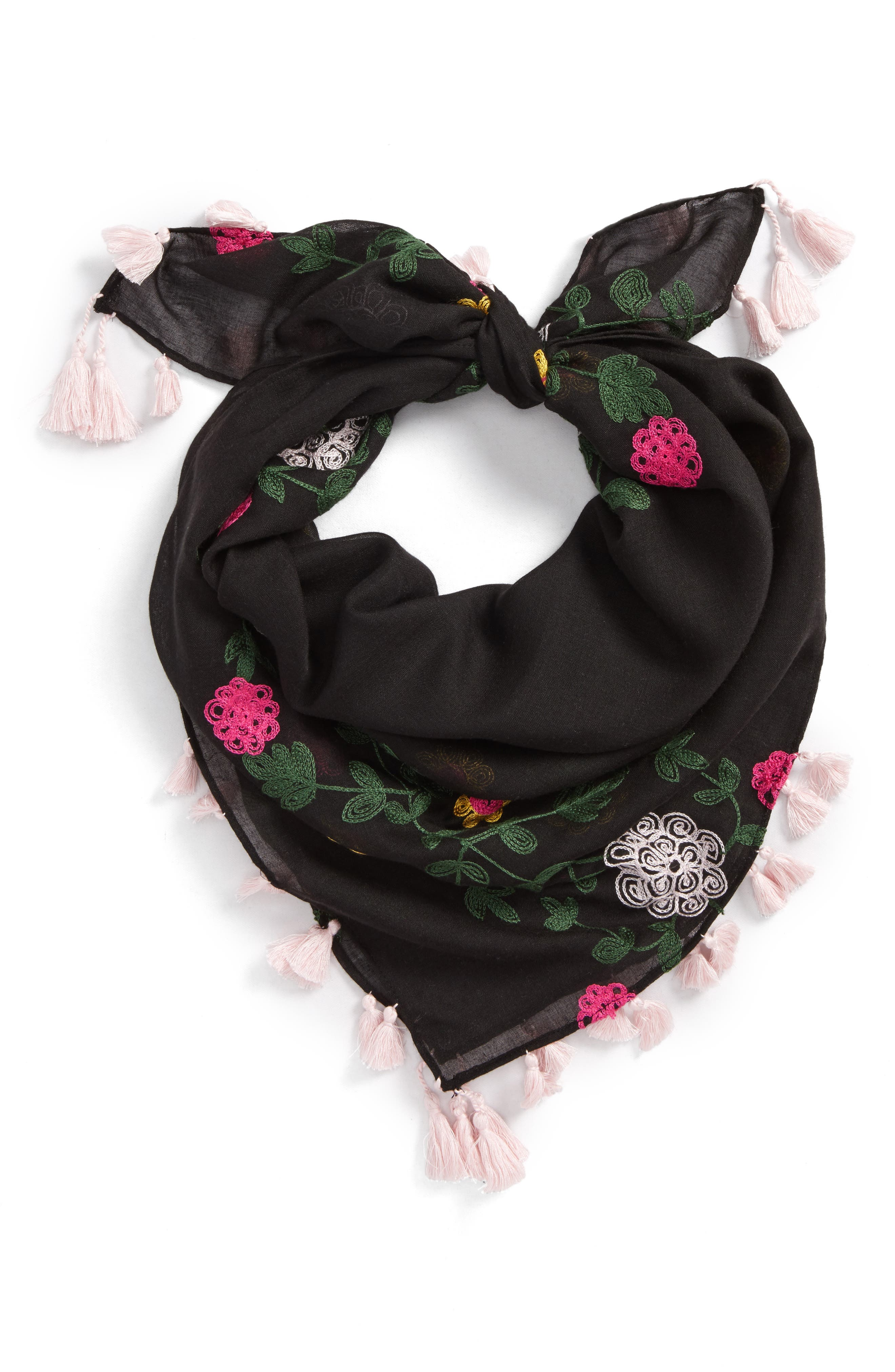 Alternate Image 1 Selected - Rebecca Minkoff Embroidered Square Scarf