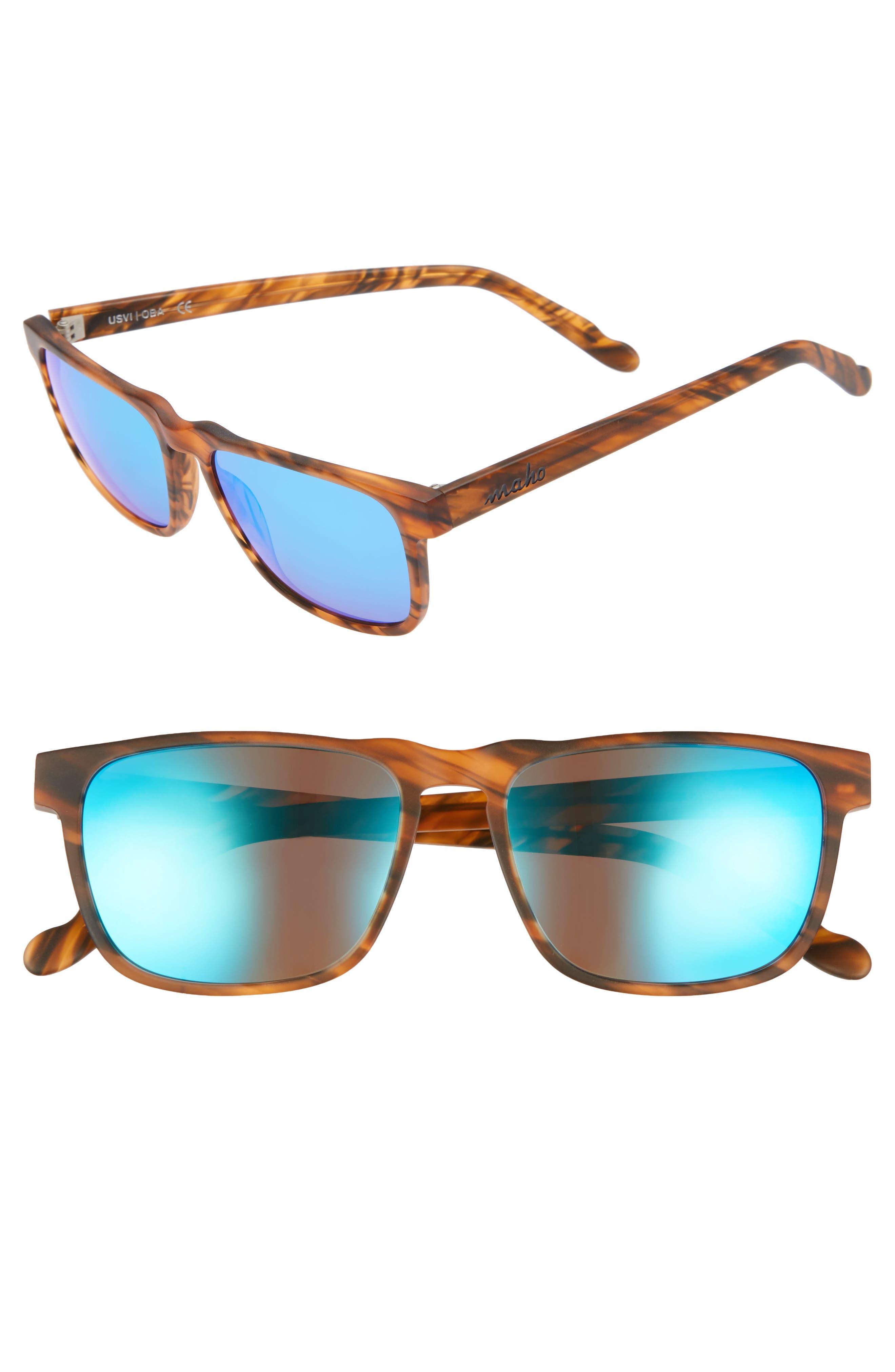 Alternate Image 1 Selected - Maho Chandeleur 59mm Polarized Aviator Sunglasses