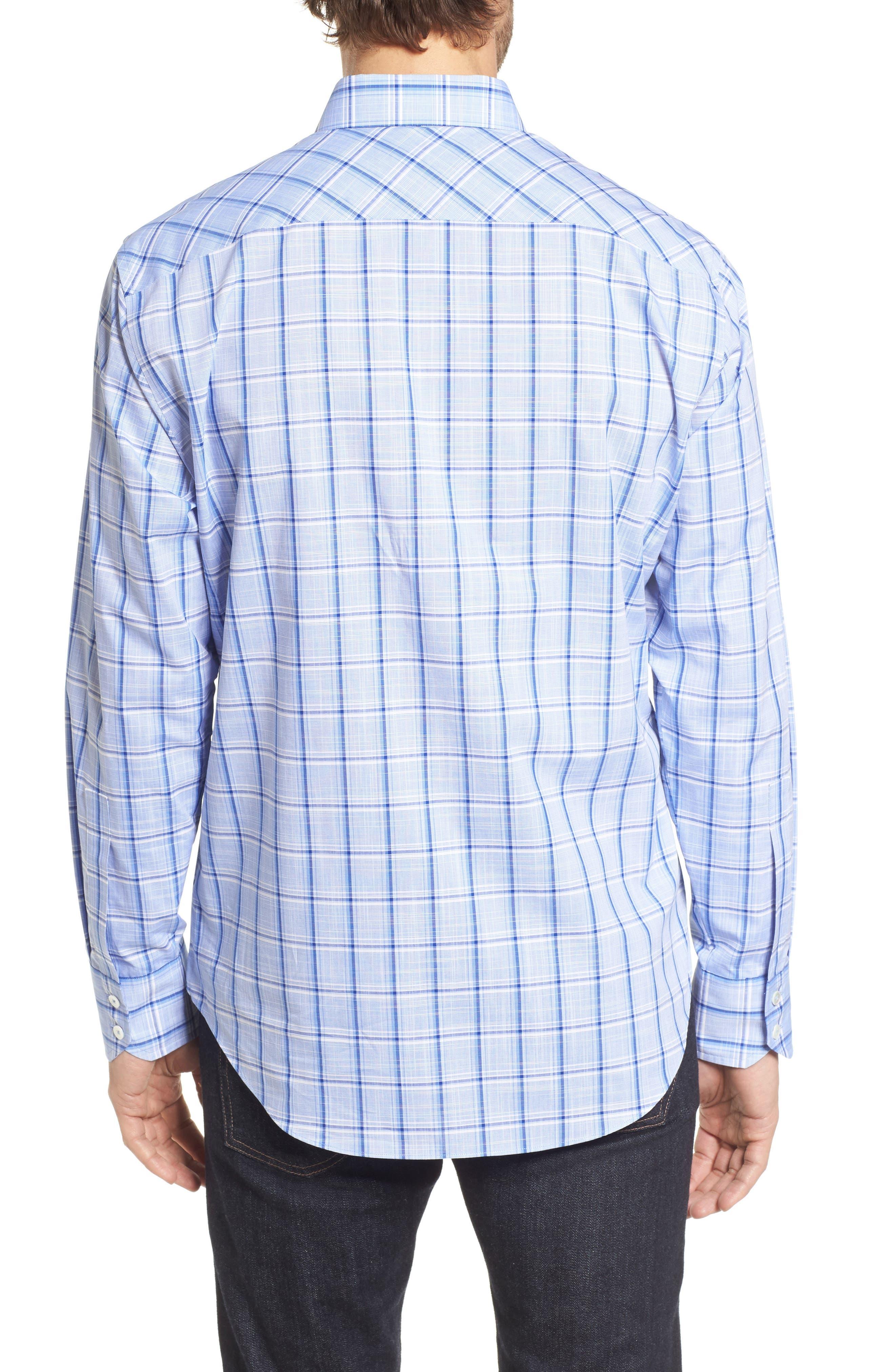 Alternate Image 2  - Zachary Prell Washington Plaid Sport Shirt