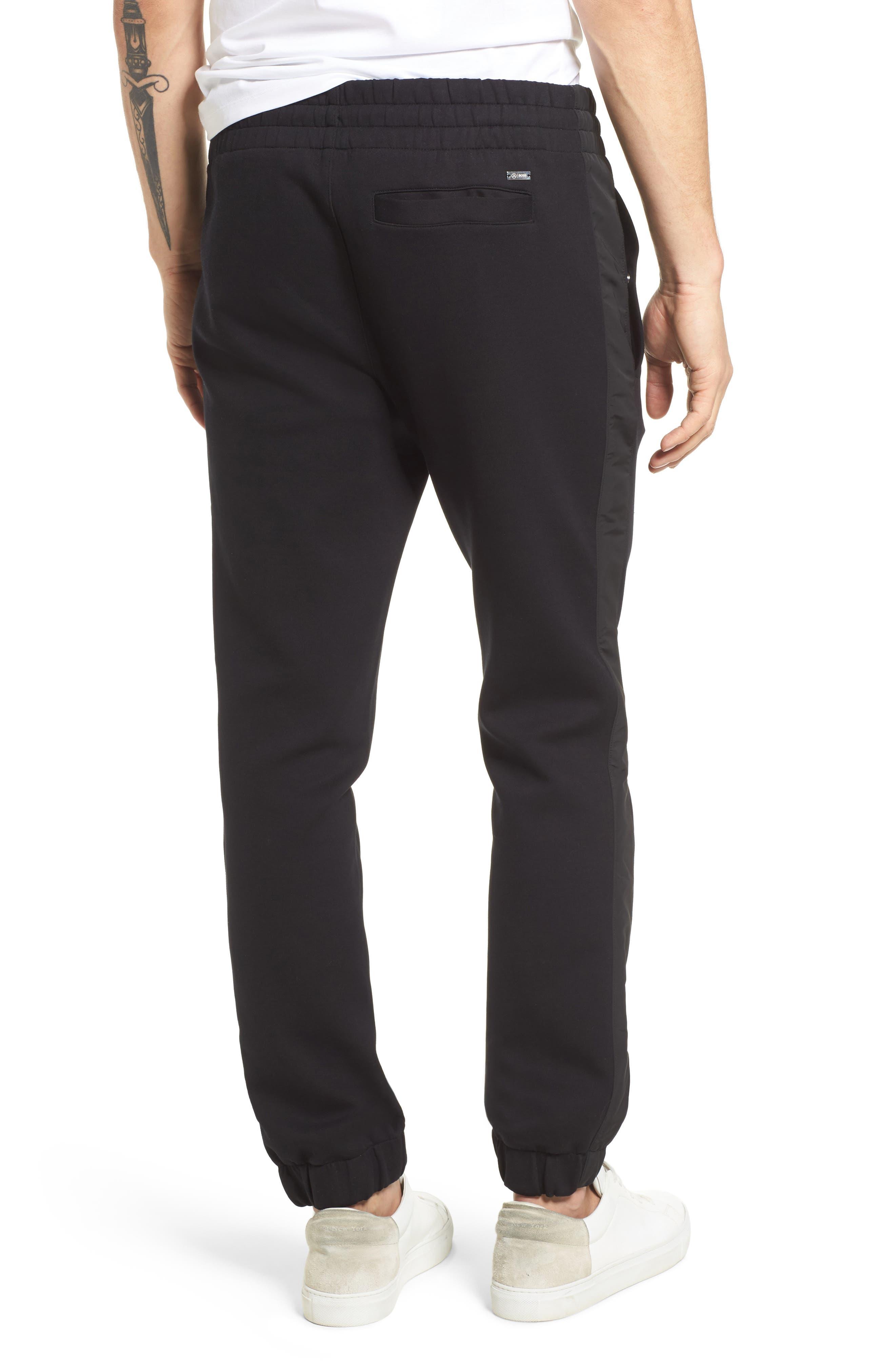 Lamont Mercedes Jogger Pants,                             Alternate thumbnail 2, color,                             Black