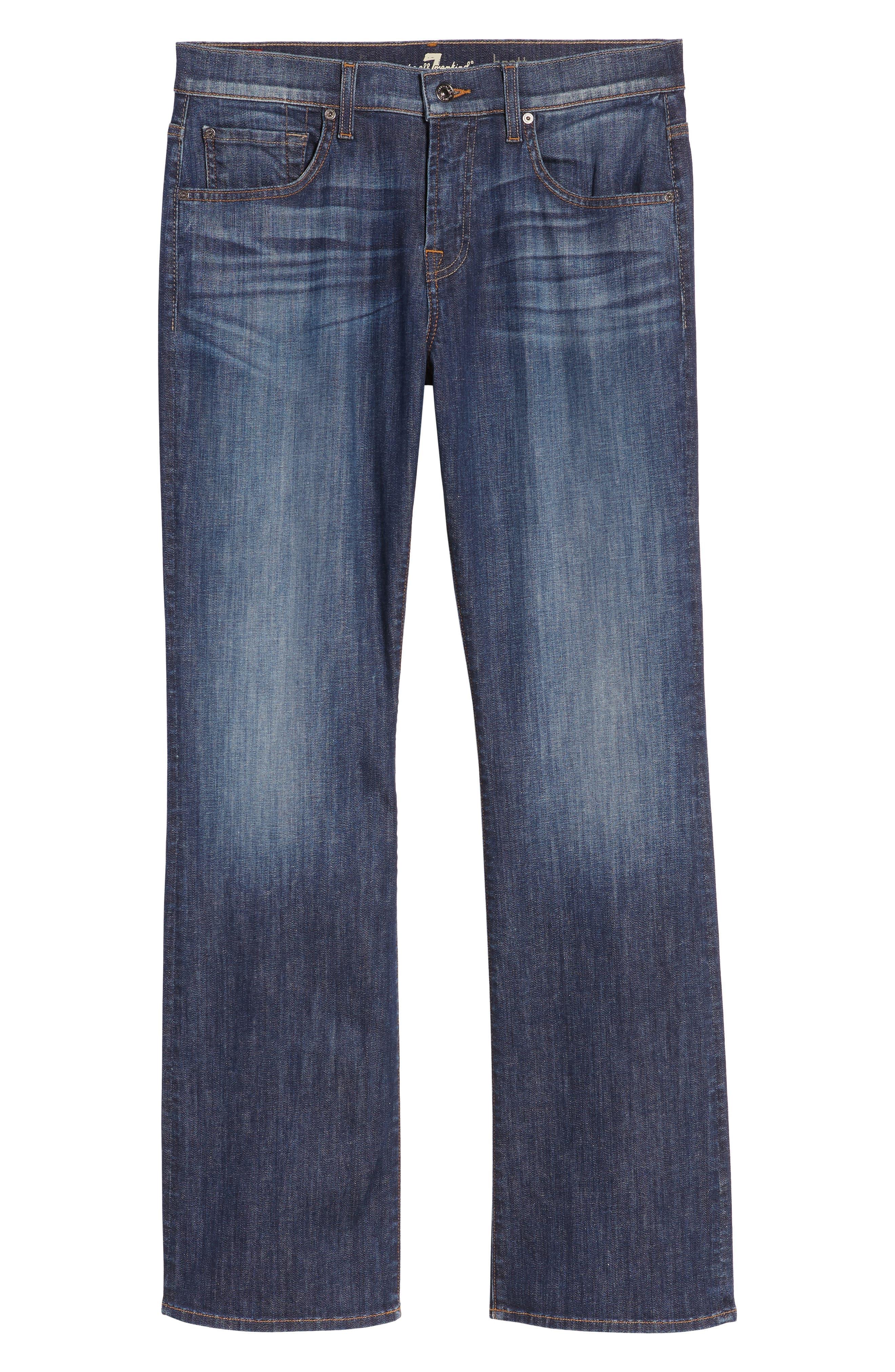 Alternate Image 5  - 7 For All Mankind® Brett Bootcut Jeans
