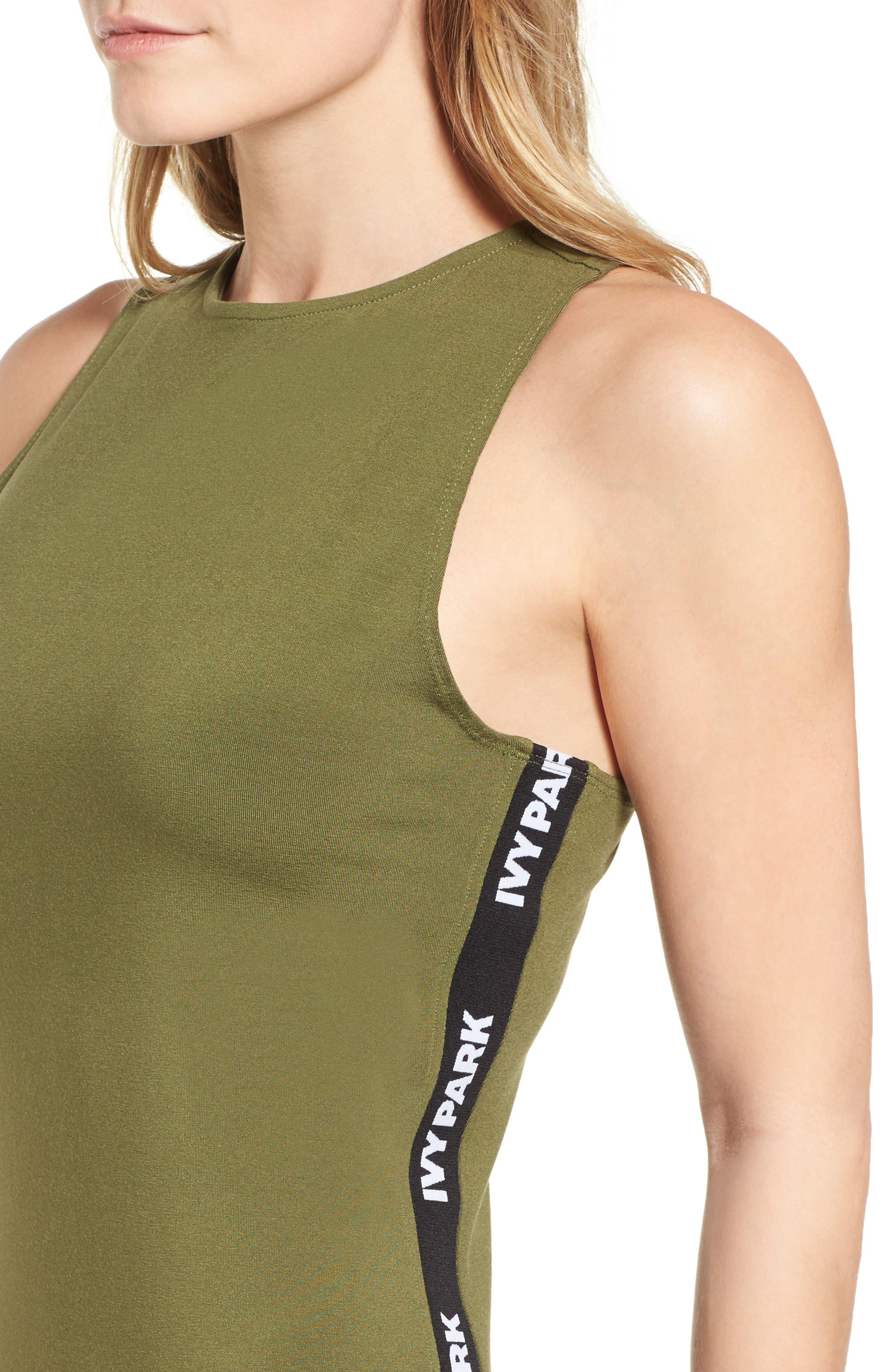 Alternate Image 6  - IVY PARK® Logo Tape Dress