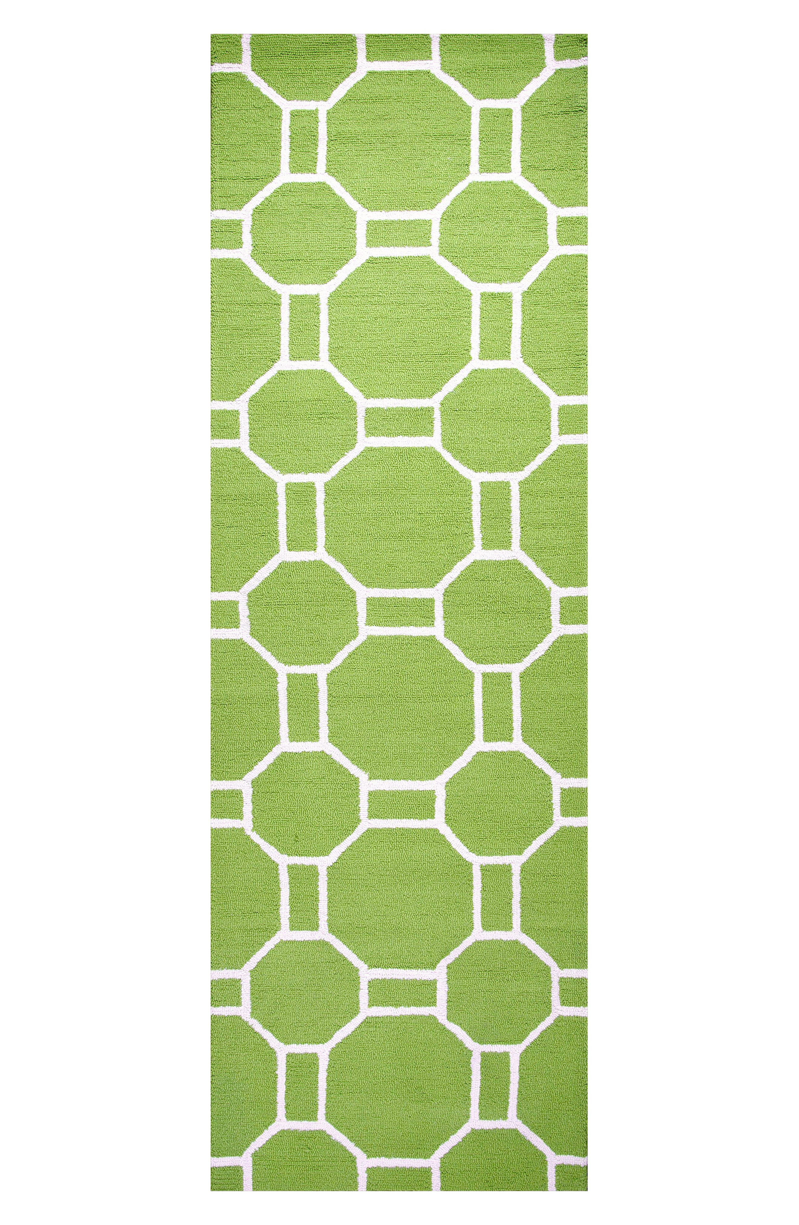Azzura Hill Adrienna Rug,                             Alternate thumbnail 2, color,                             Lime