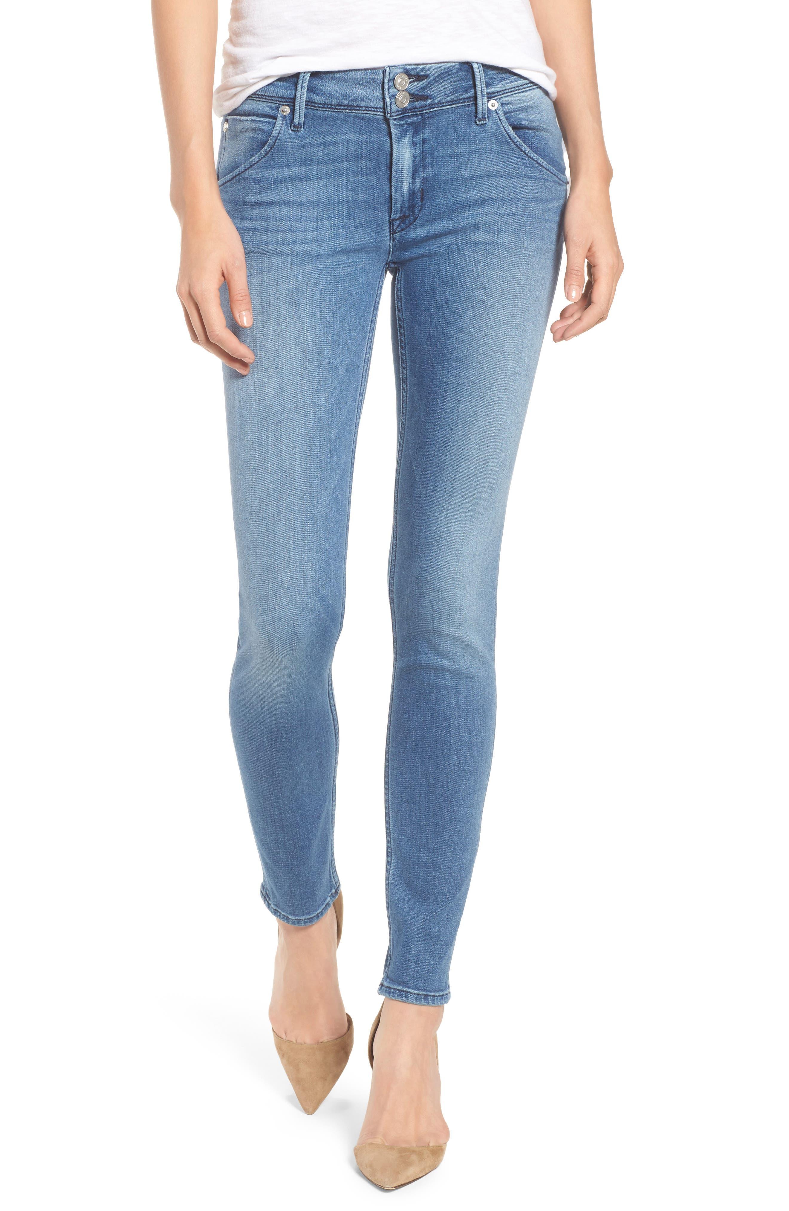 Alternate Image 1 Selected - Hudson Jeans Collin Skinny Jeans (Sentimental)
