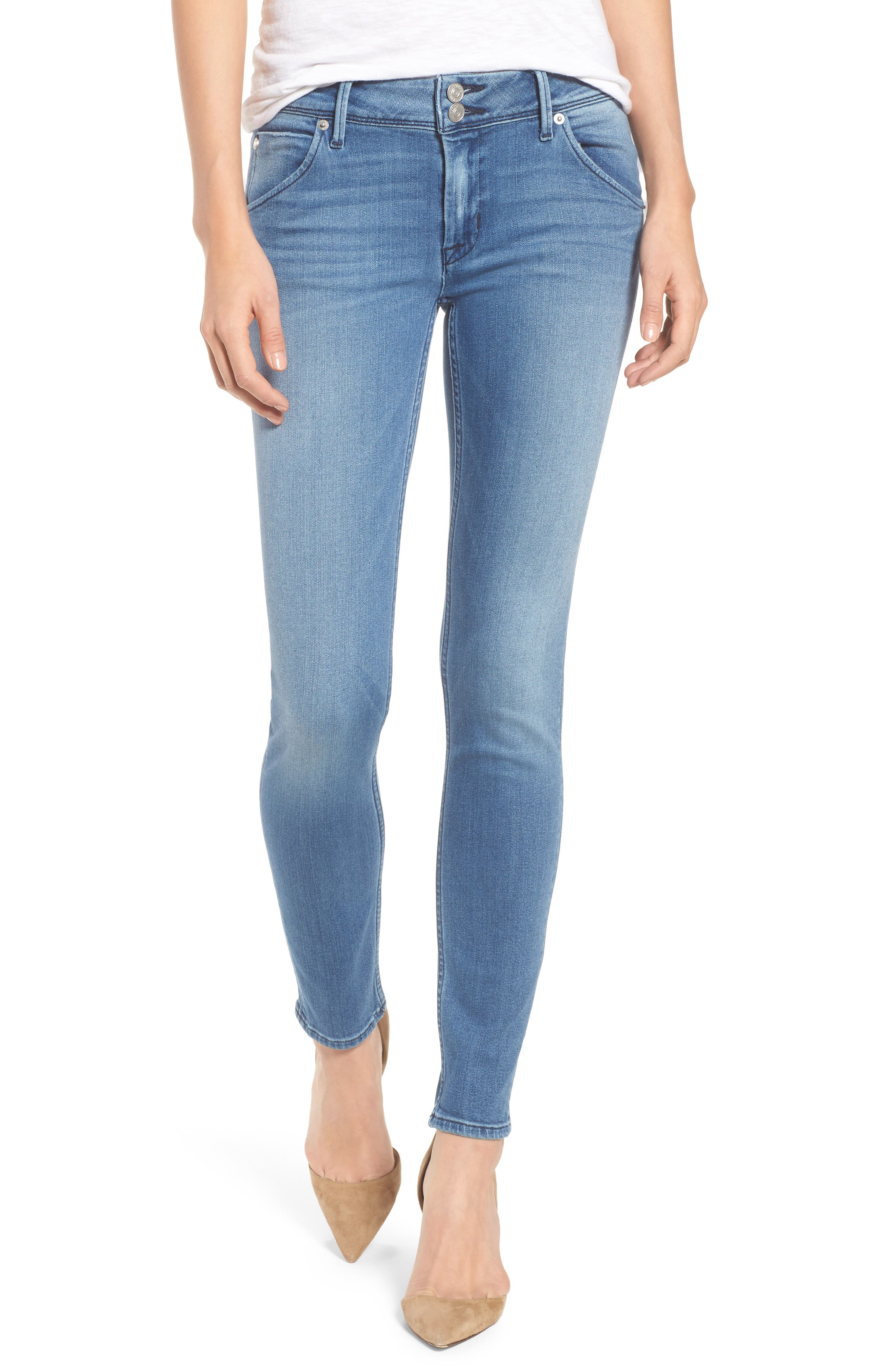 Main Image - Hudson Jeans Collin Skinny Jeans (Sentimental)