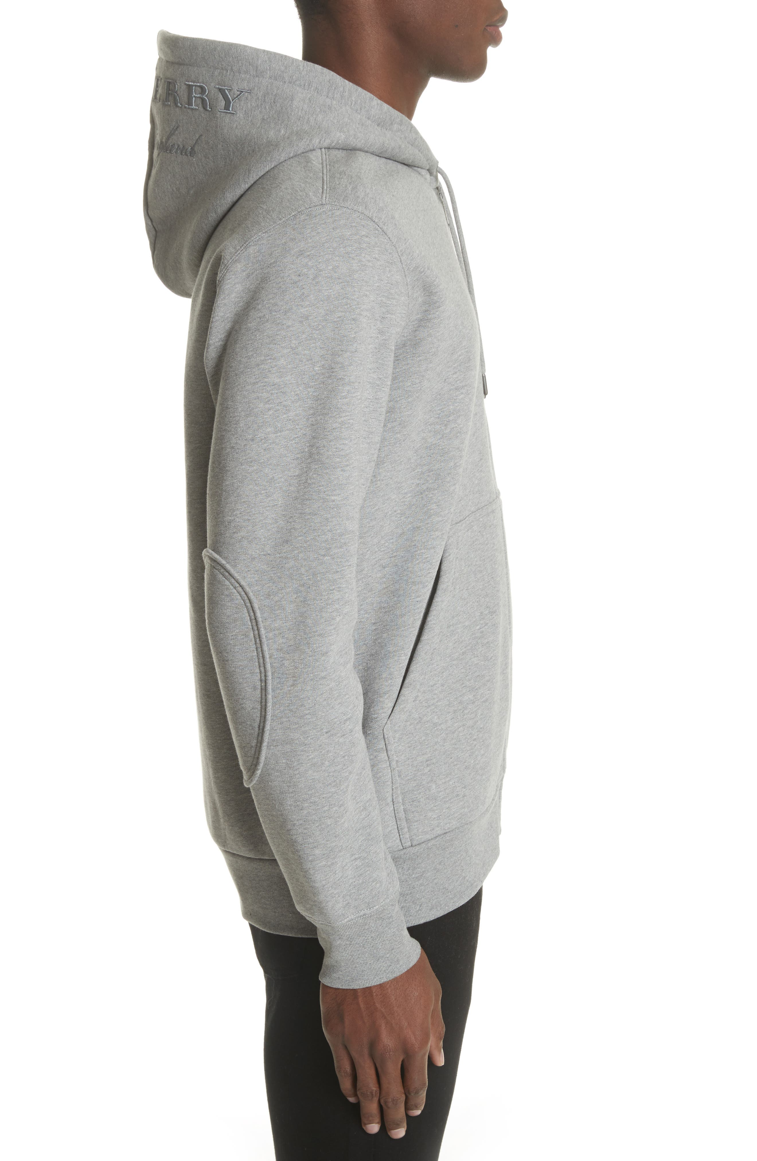 Alternate Image 3  - Burberry Kenton Regular Fit Full Zip Fleece Hoodie