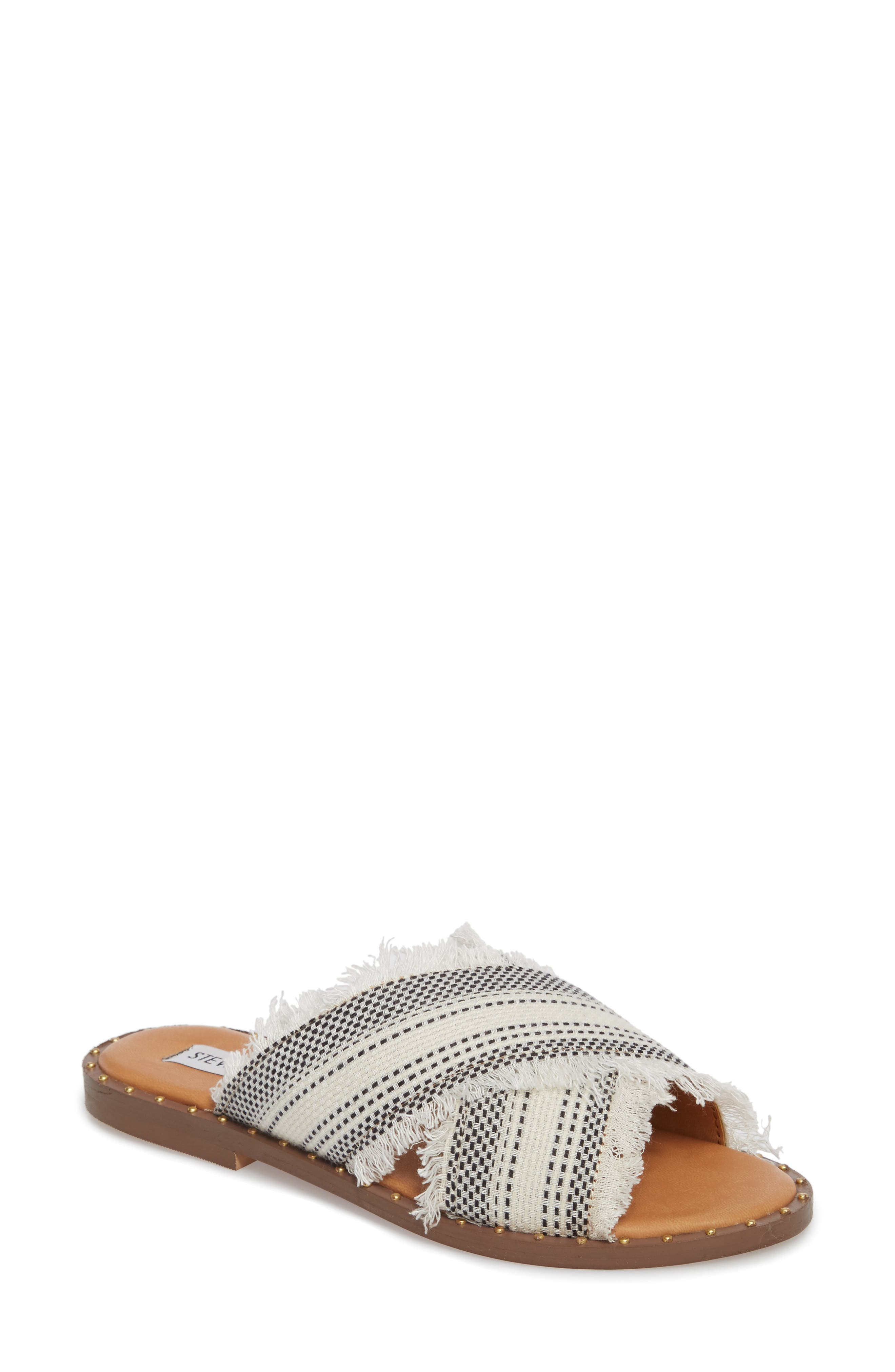 Riva Slide Sandal,                         Main,                         color, White Multi
