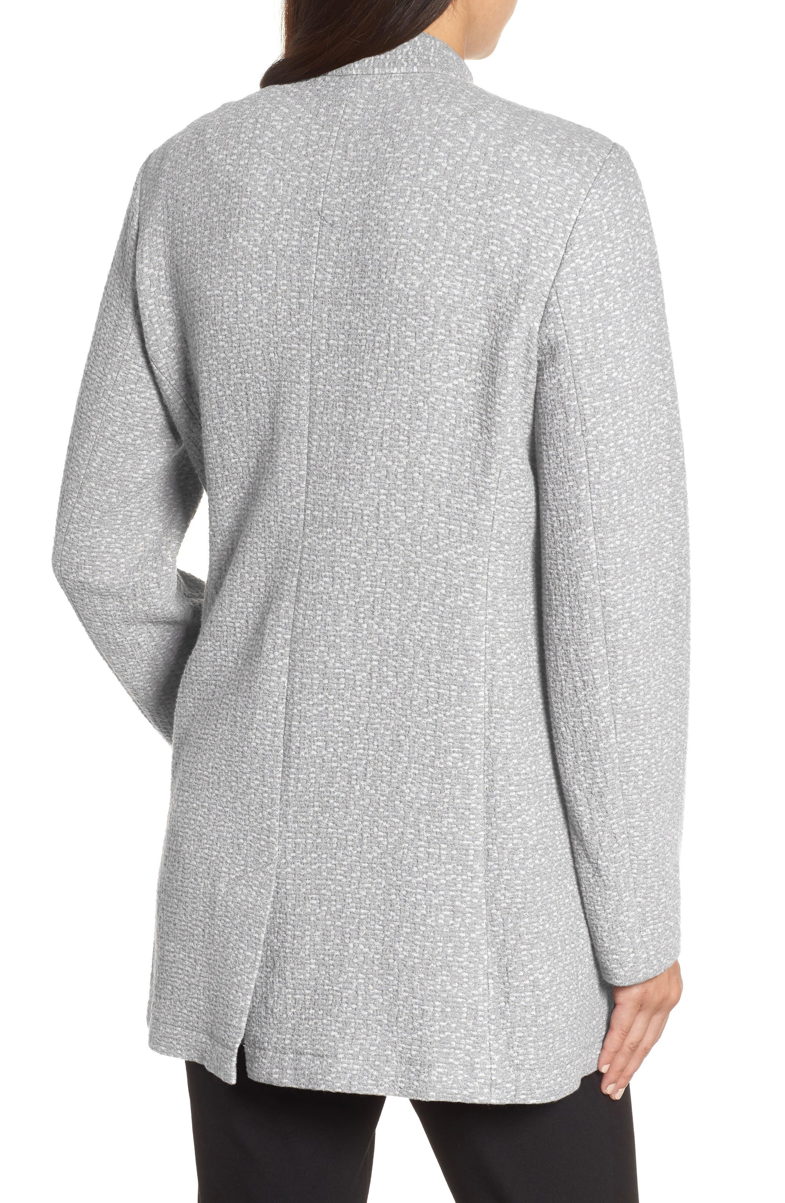 Tweed Jacket,                             Alternate thumbnail 2, color,                             Dark Pearl