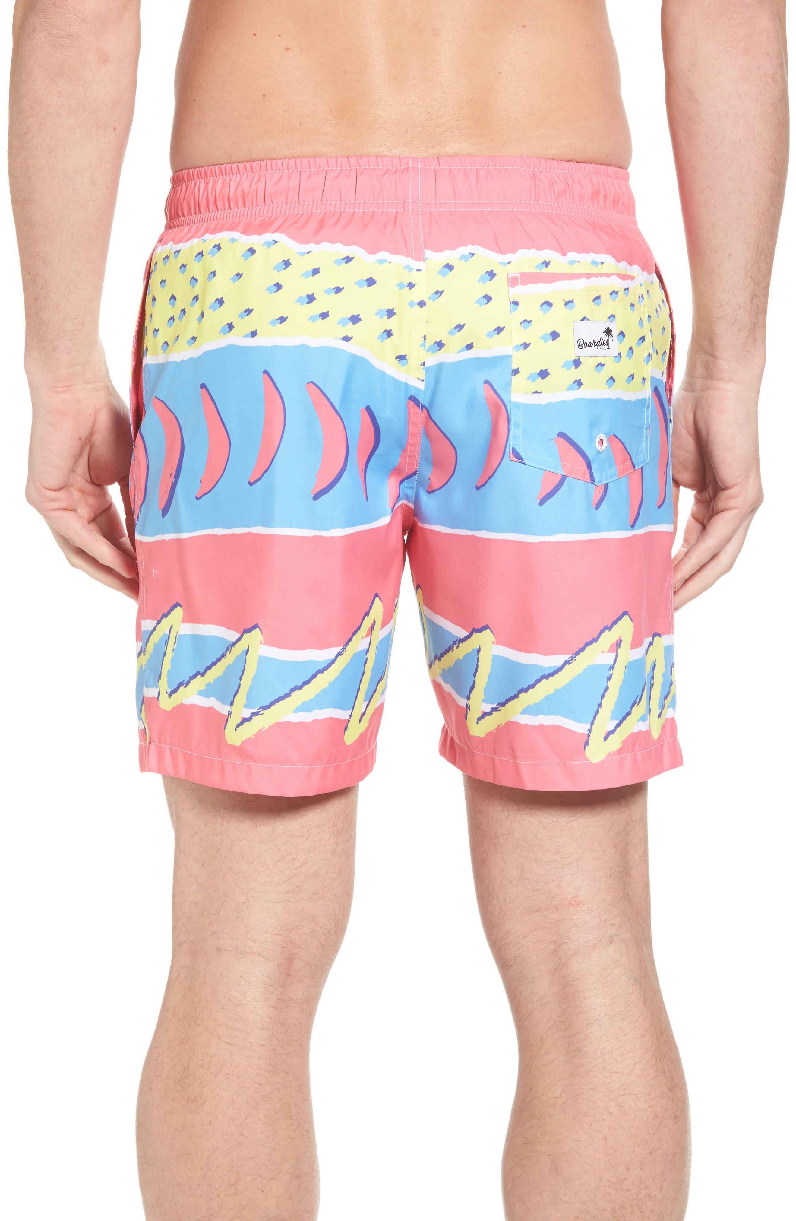 Fresh Prince Board Shorts,                             Alternate thumbnail 2, color,                             Multi