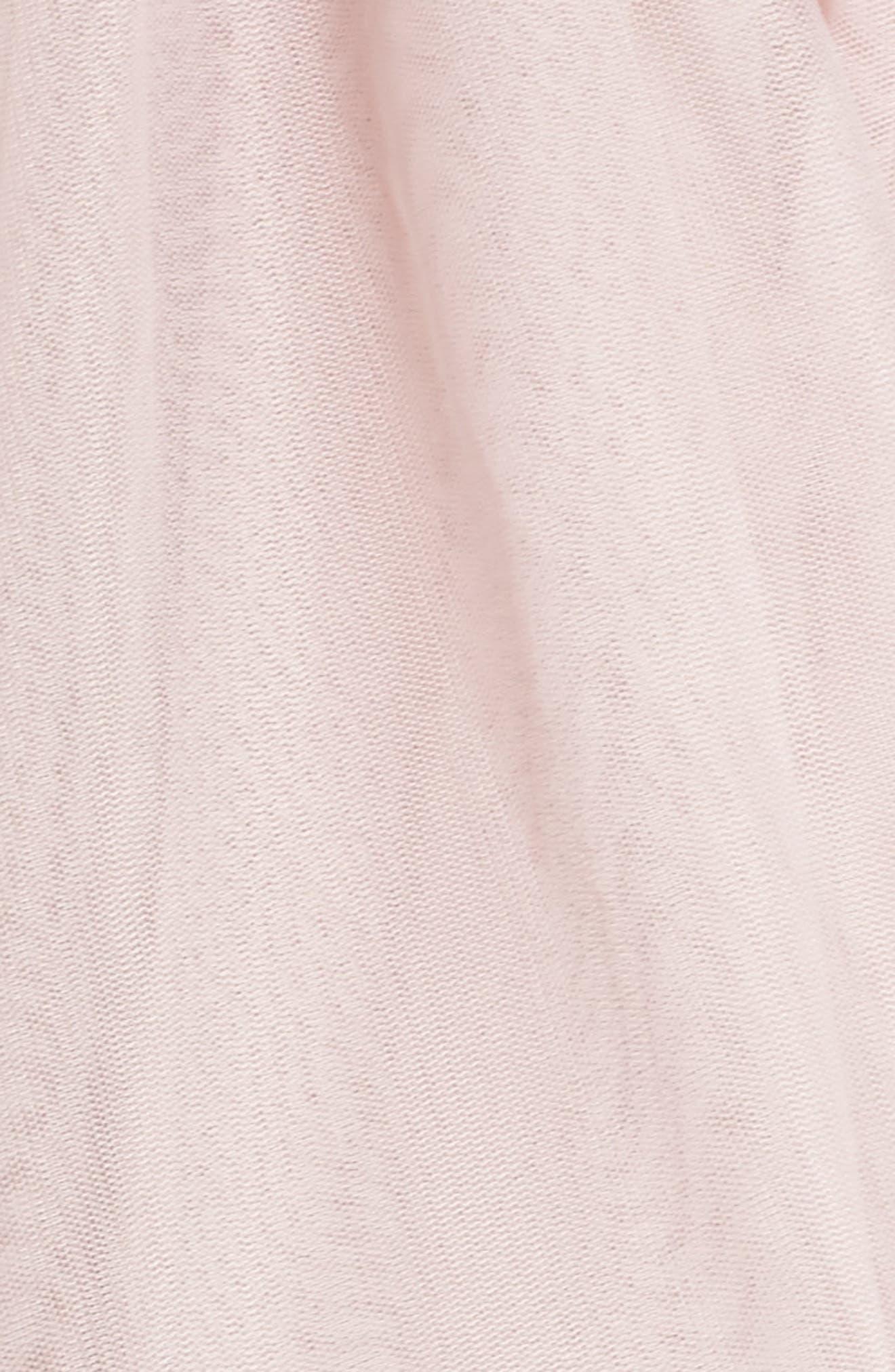 Beaded Halter Neck Gown,                             Alternate thumbnail 5, color,                             Mauve