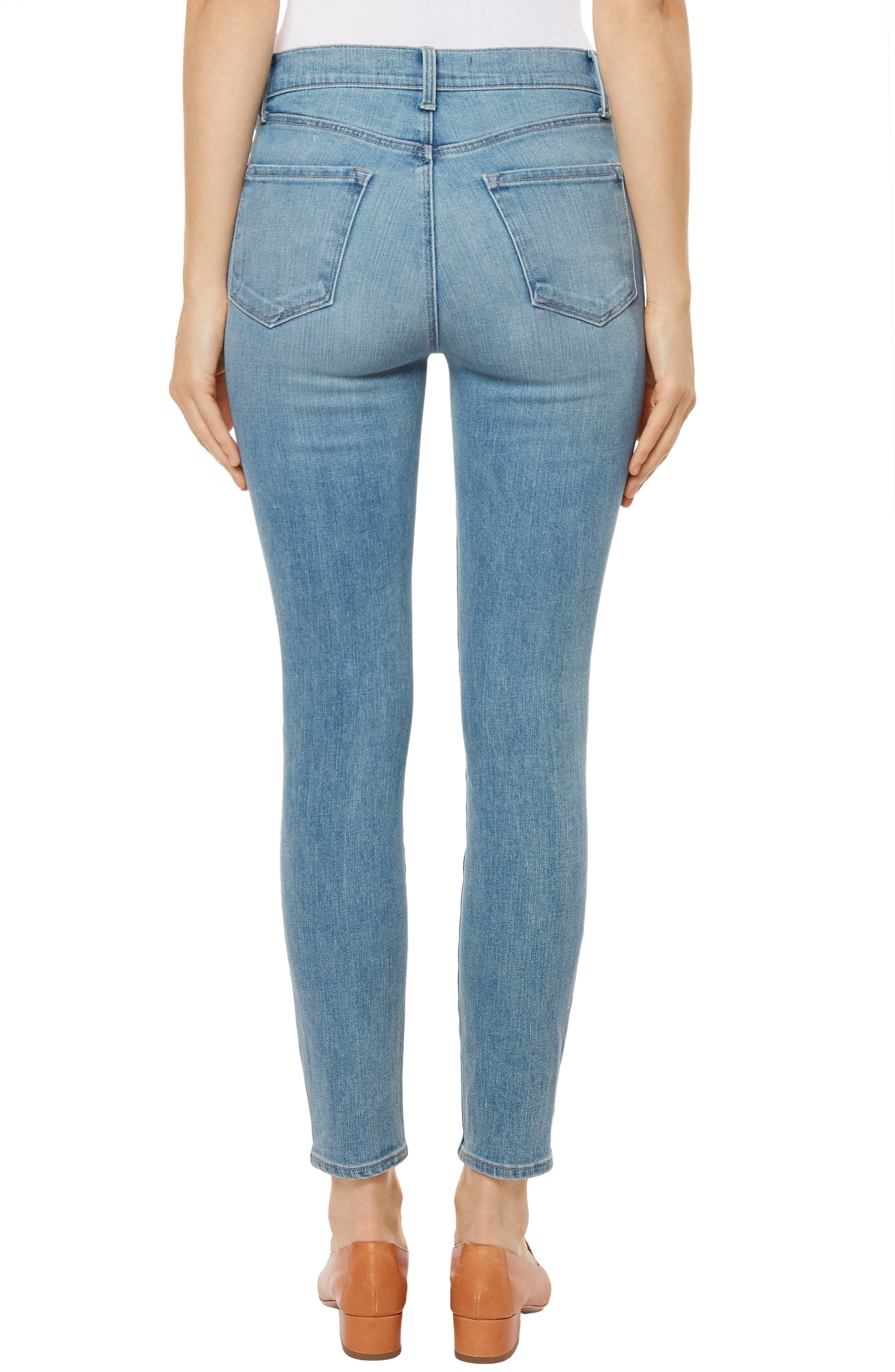 Alana Crop Skinny Jeans,                             Alternate thumbnail 2, color,                             Surge