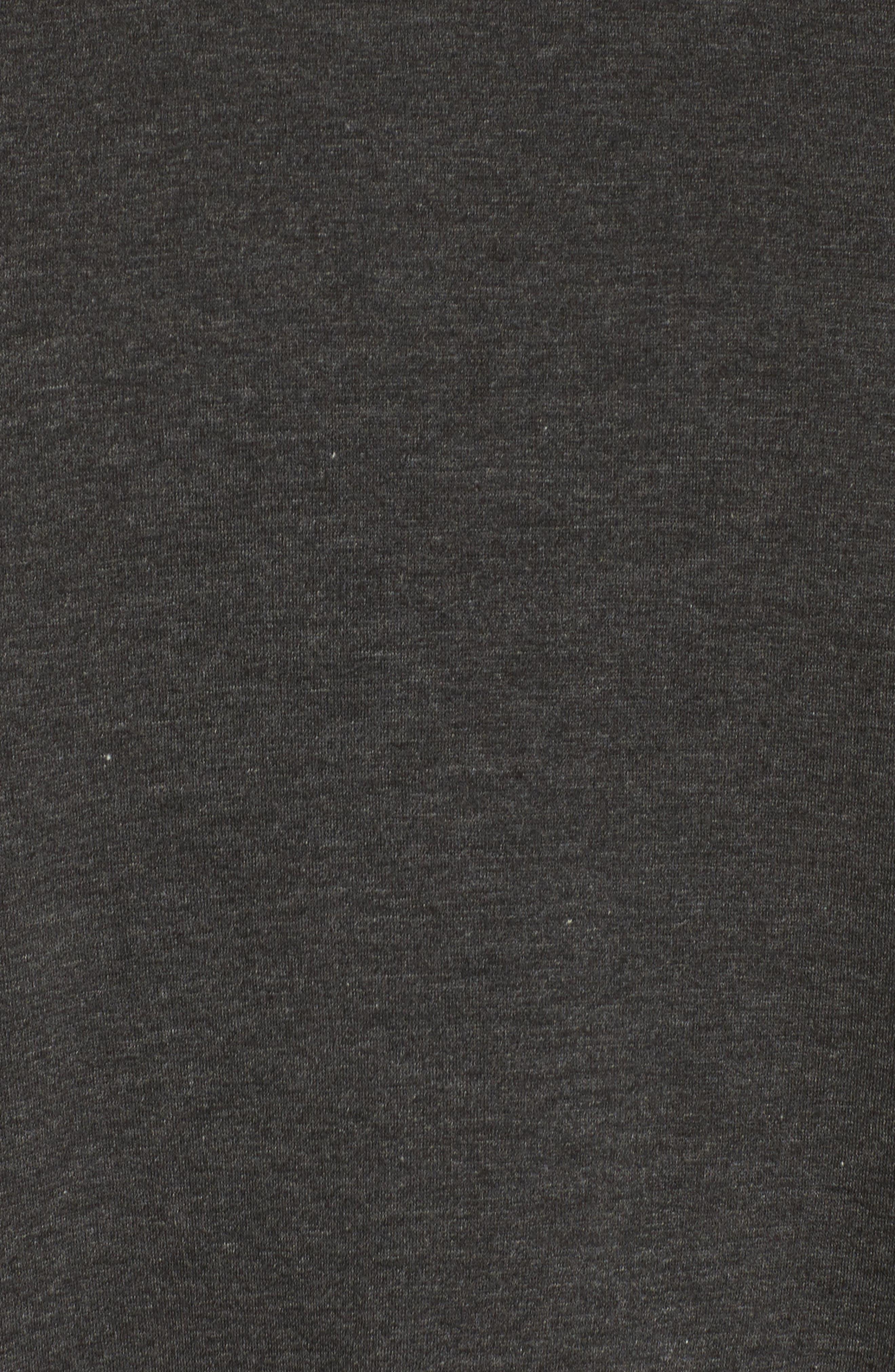 Crane Sweatshirt,                             Alternate thumbnail 5, color,                             Charcoal