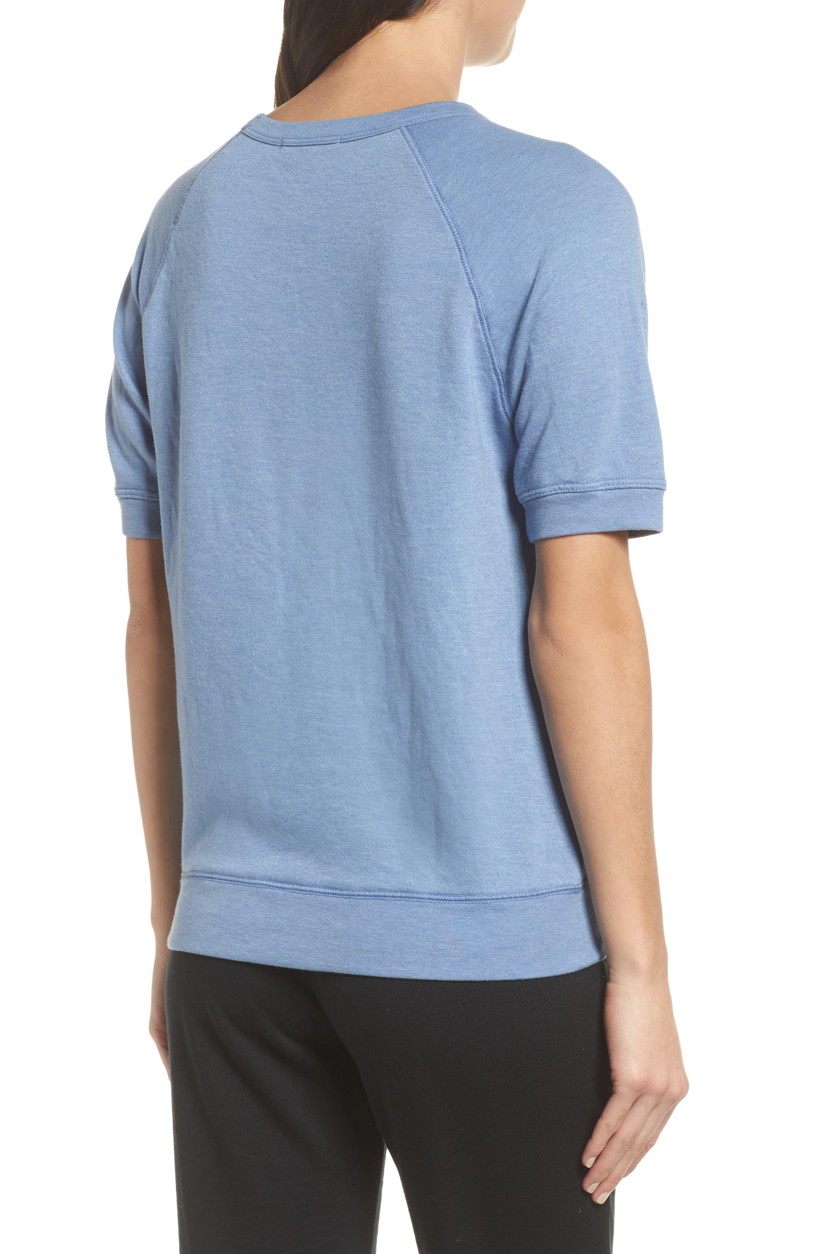 Alternate Image 2  - Junk Food Forever Short Sleeve Sweatshirt (Nordstrom Exclusive)