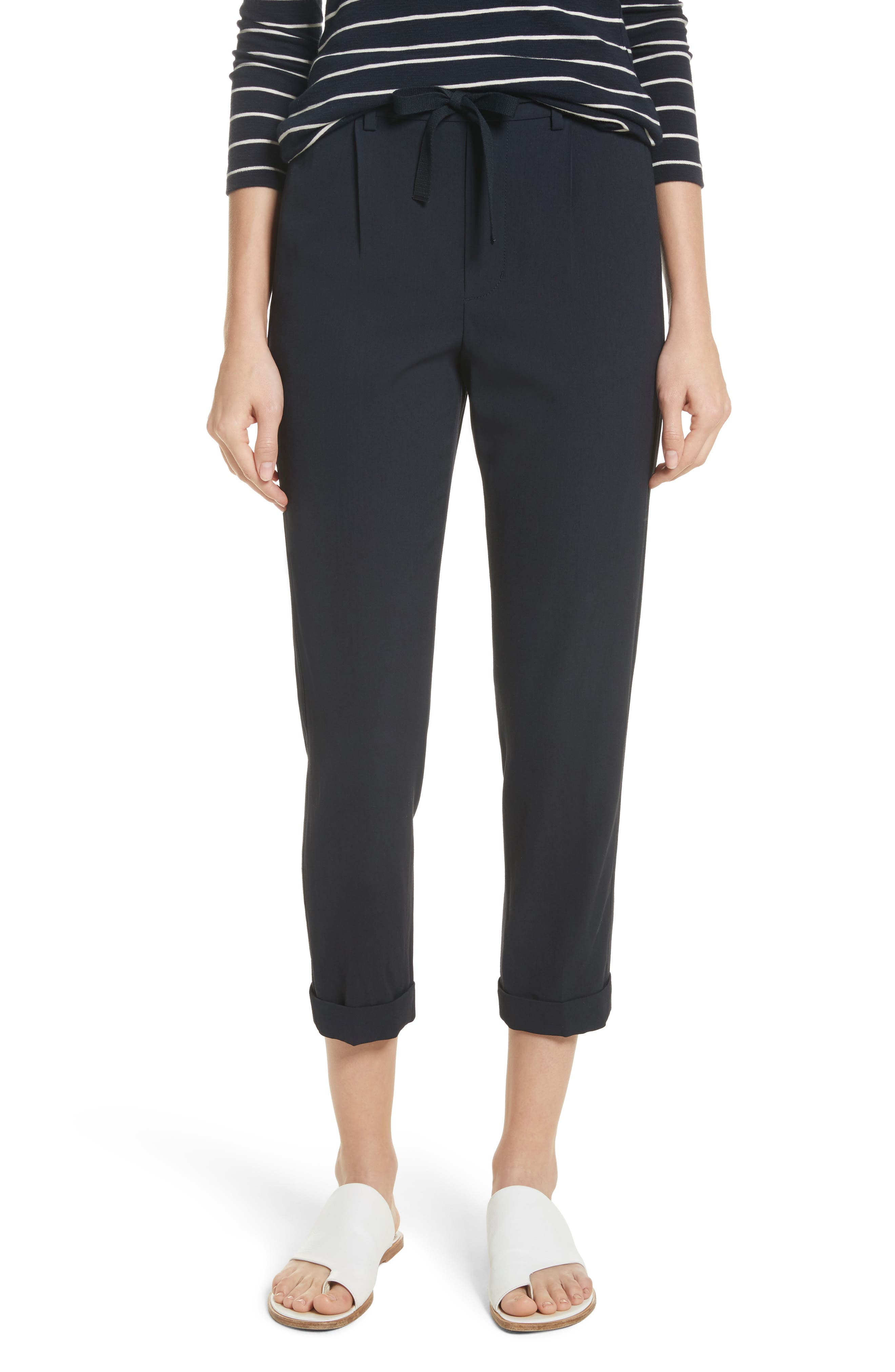 Alternate Image 1 Selected - Vince Side Strap Jogger Pants