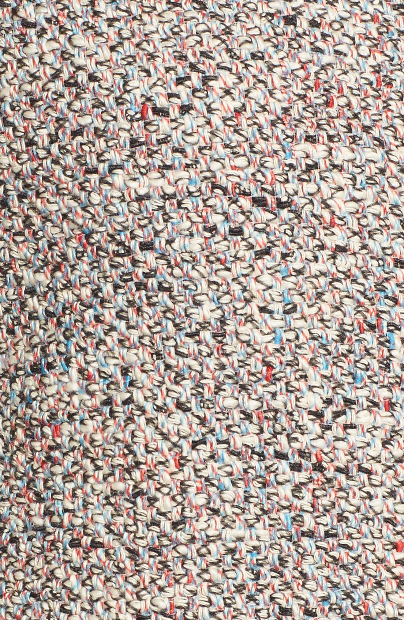Alternate Image 5  - BOSS Koralie Tweed Jacket (Regular & Petite)