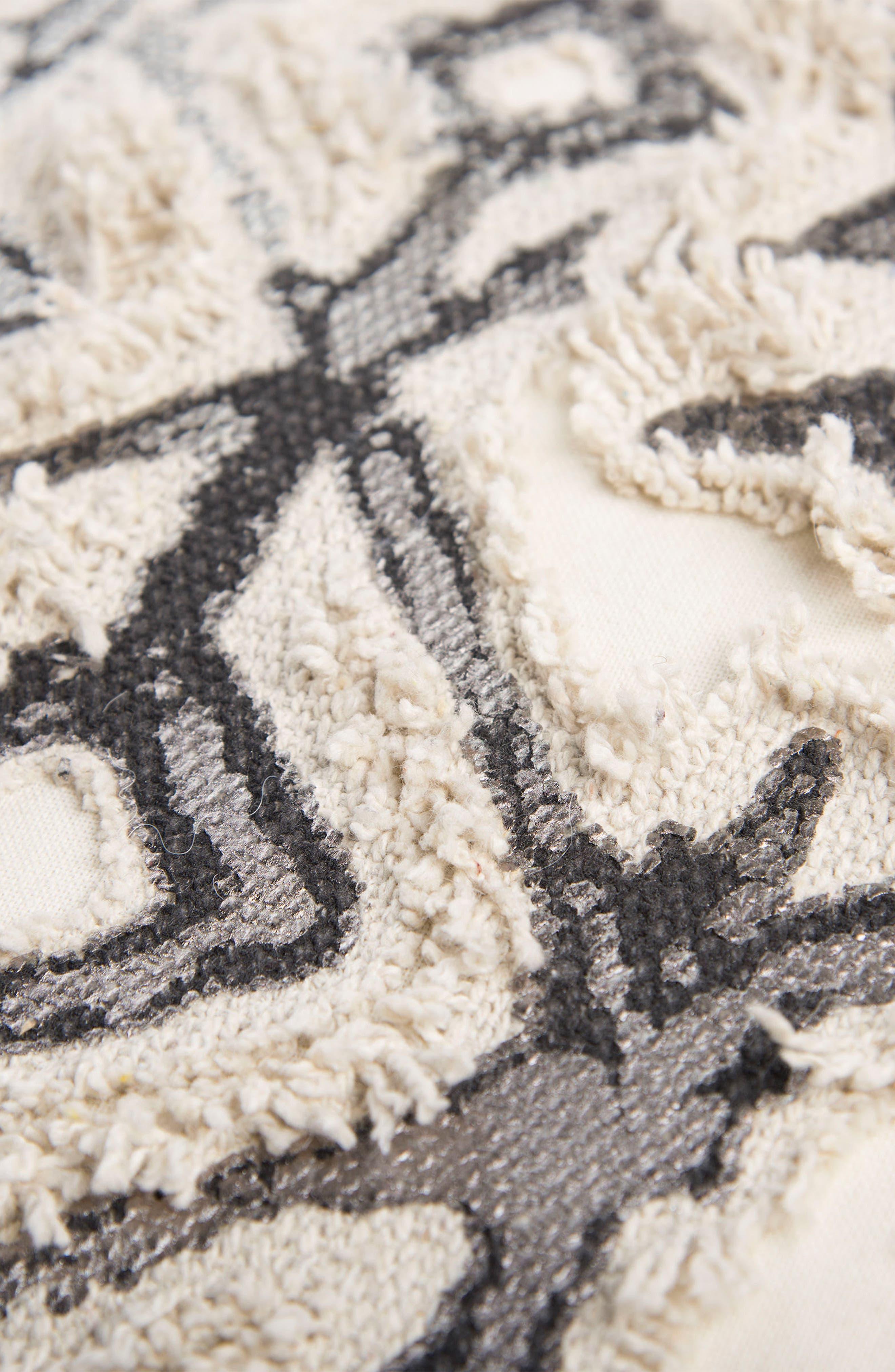 Geometric Pillow,                             Alternate thumbnail 2, color,                             Grey