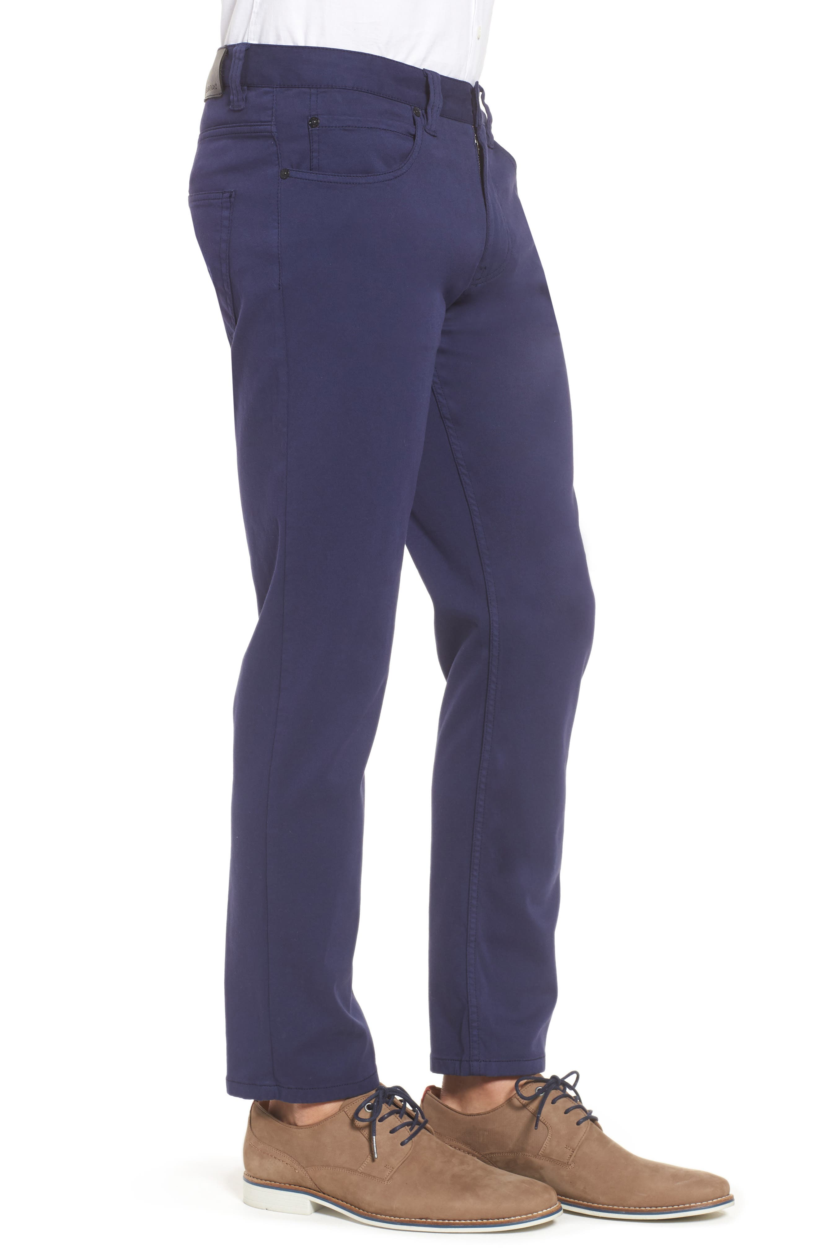 Five-Pocket Straight Leg Pants,                             Alternate thumbnail 3, color,                             Midnight