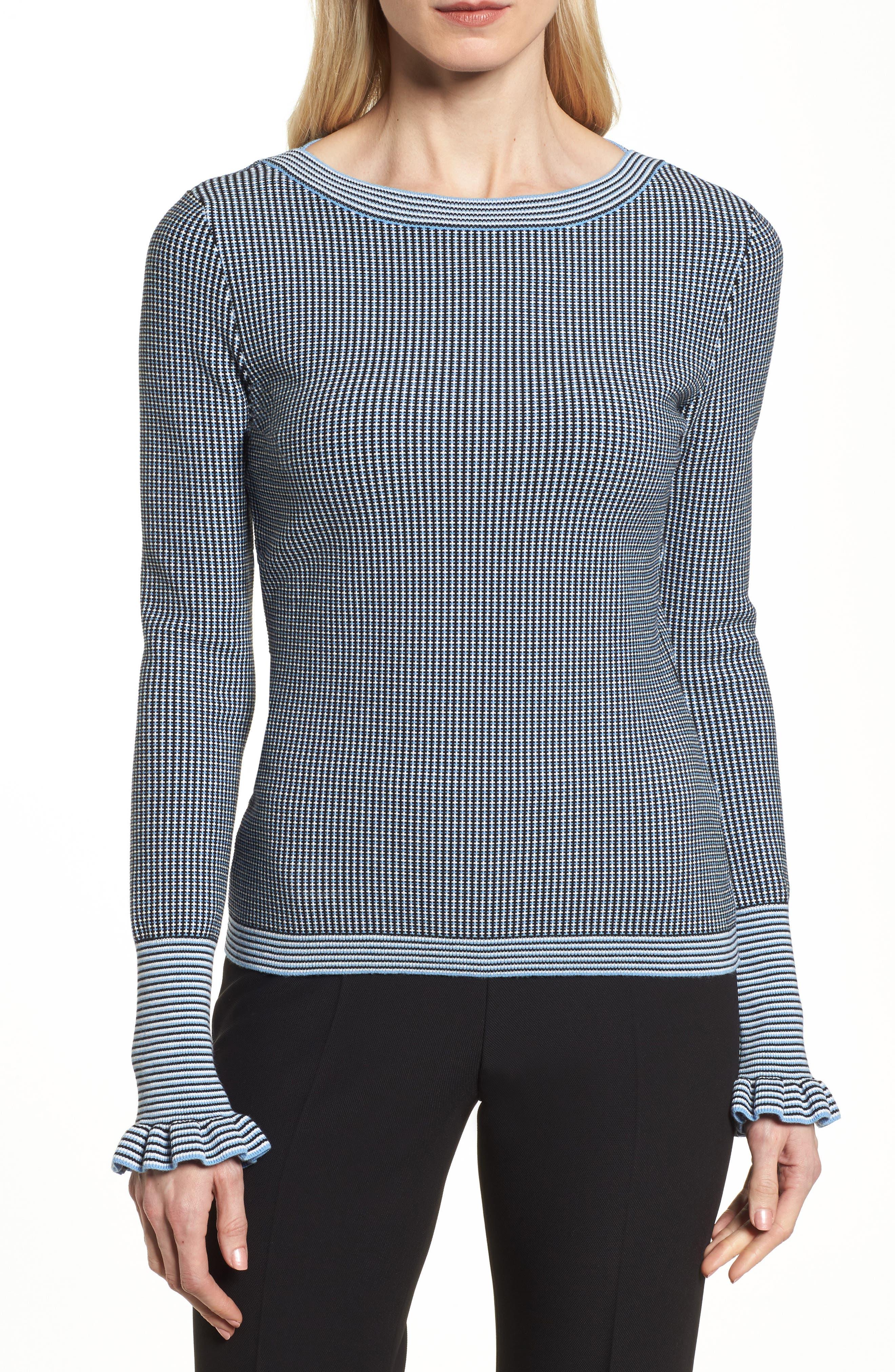 BOSS Firusa Patterned Sweater