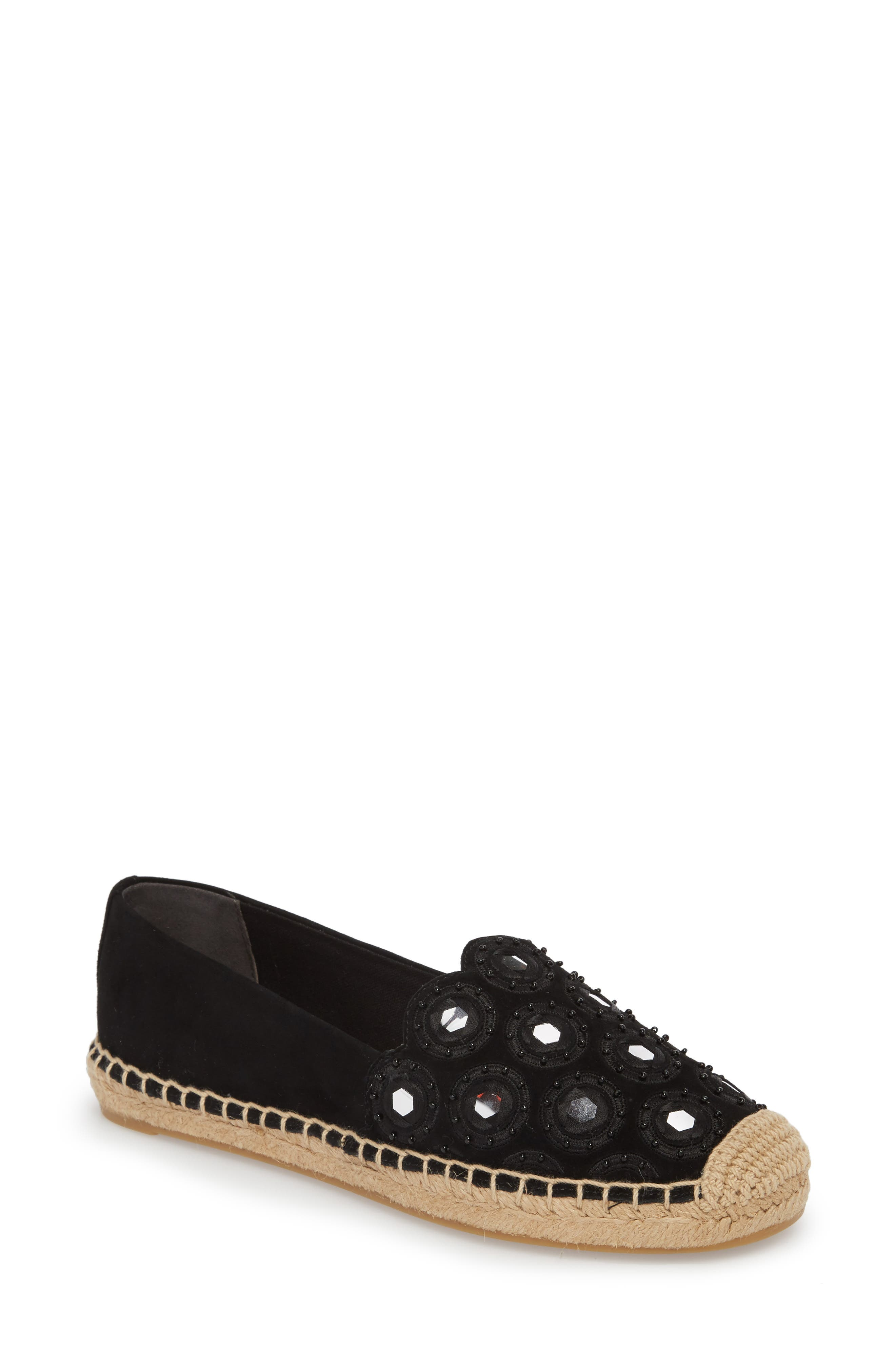 Alternate Image 1 Selected - Tory Burch Yasmin Embellished Espadrille (Women)