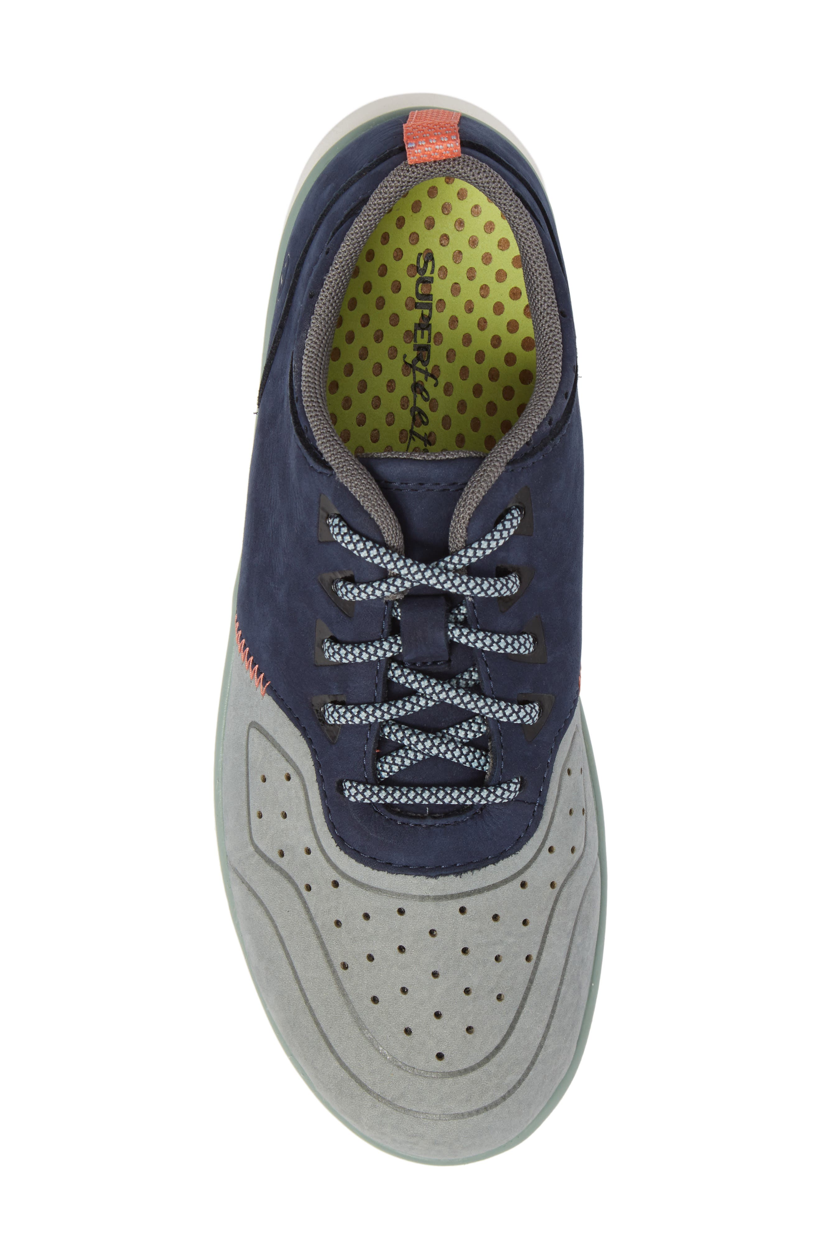 Beech Sneaker,                             Alternate thumbnail 5, color,                             Blue Leather