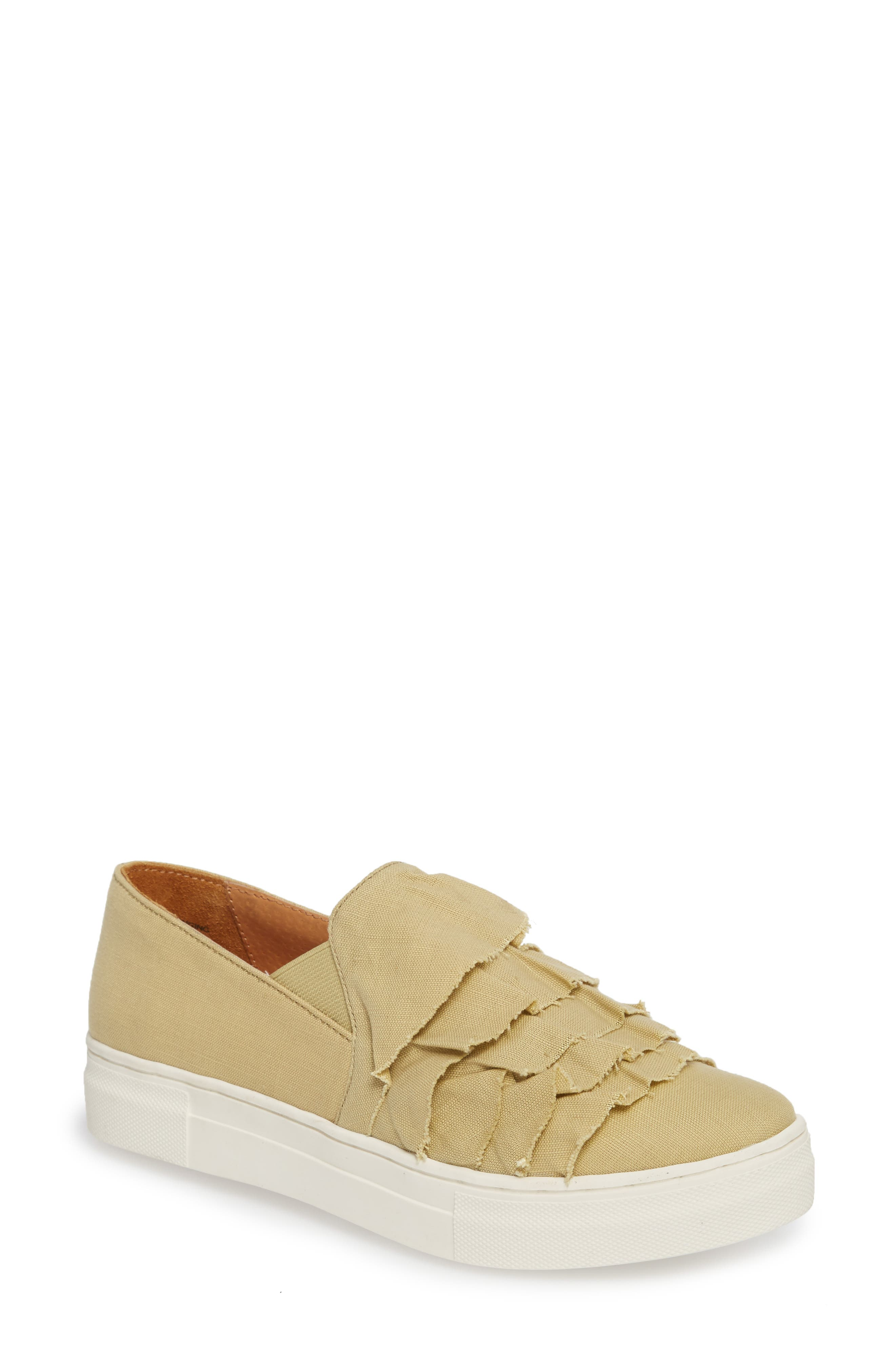 Quake II Slip-On Sneaker,                         Main,                         color, Natural Frayed Fabric