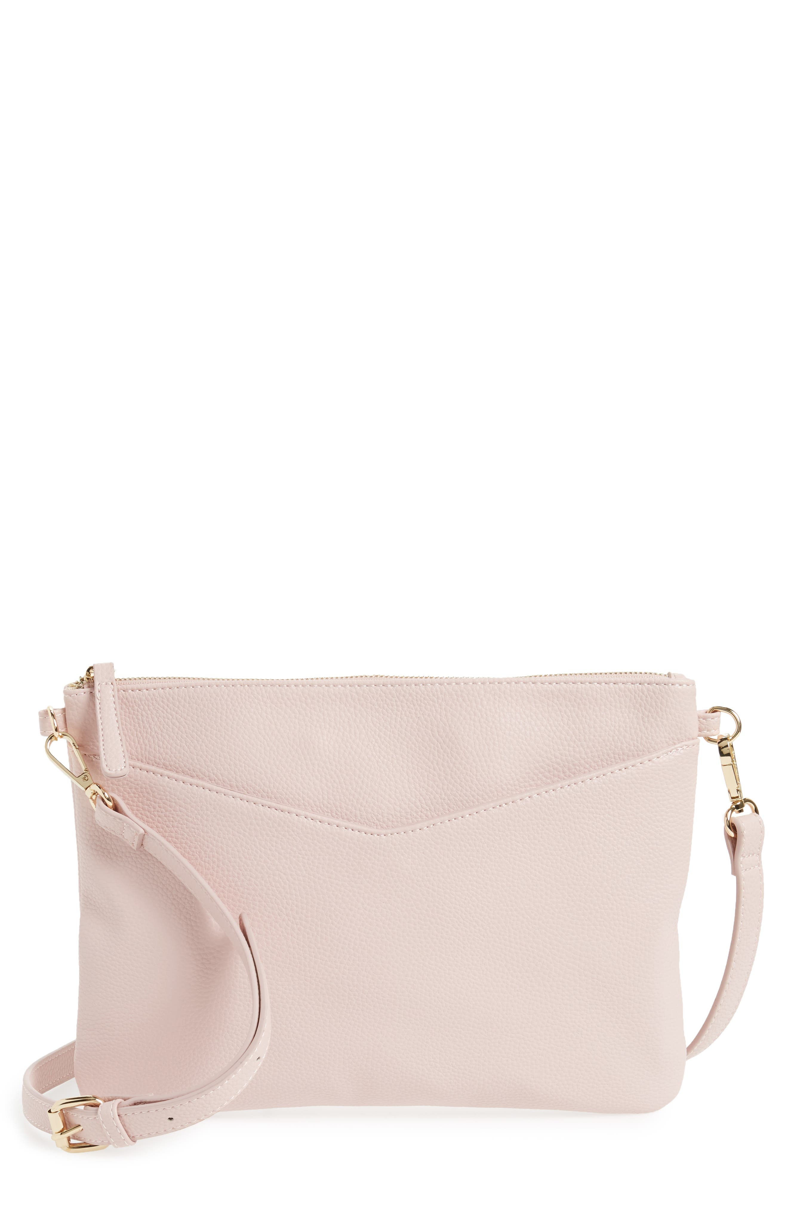 Alternate Image 1 Selected - Emperia Faux Leather Crossbody Bag