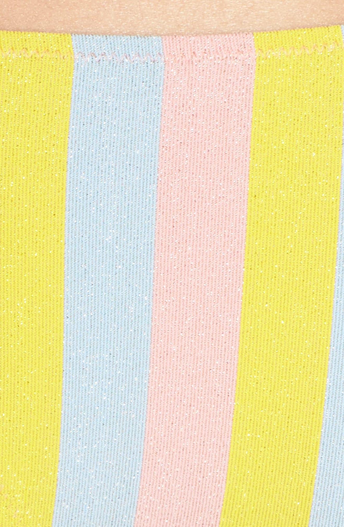 The Rachel Bikini Bottoms,                             Alternate thumbnail 8, color,                             Yellow/ Blue/ Pink