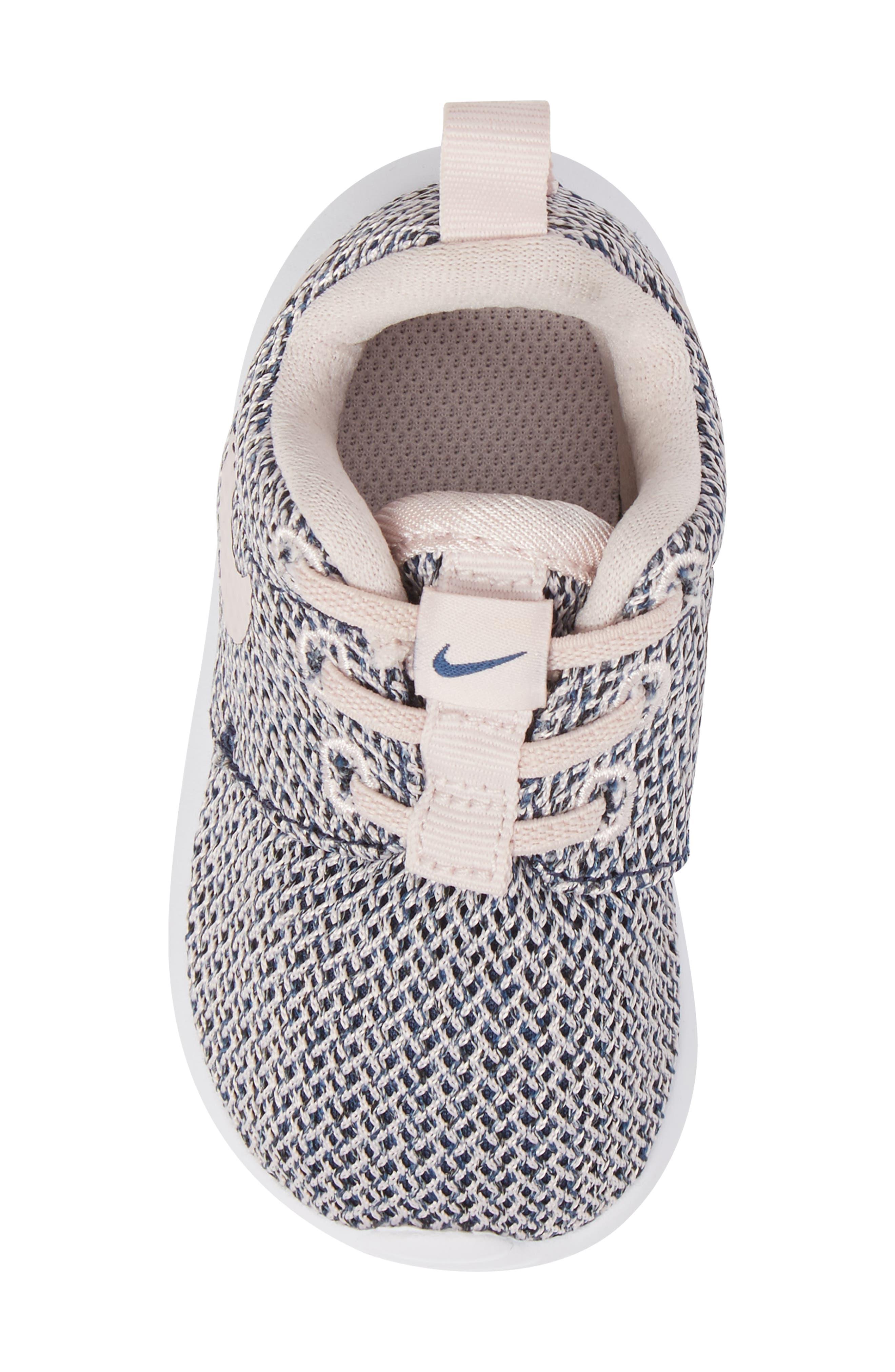Alternate Image 5  - Nike Roshe Run Sneaker (Baby, Walker & Toddler)