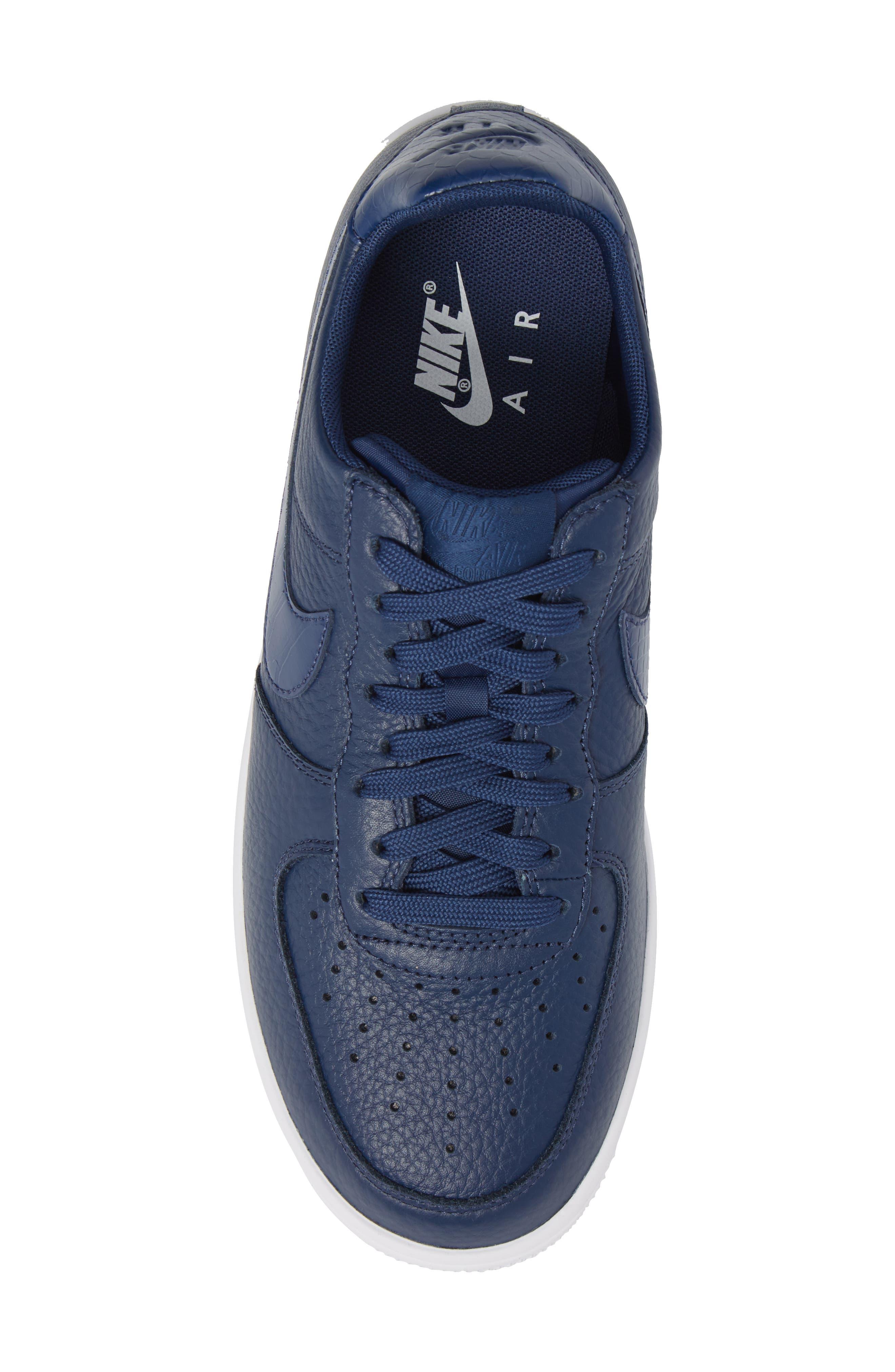 Air Force 1 Ultraforce Sneaker,                             Alternate thumbnail 5, color,                             Navy/ Navy/ White
