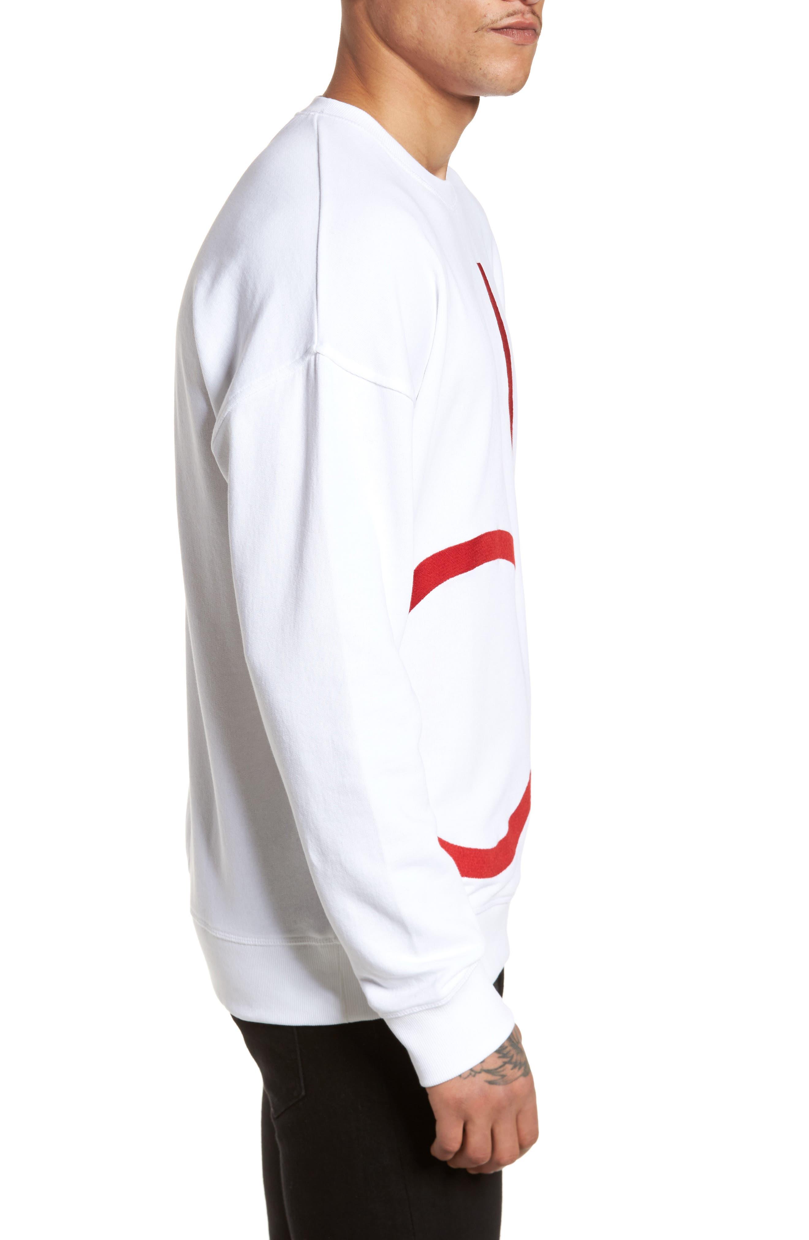 Alternate Image 3  - Calvin Klein Jeans Embroidered Sweatshirt