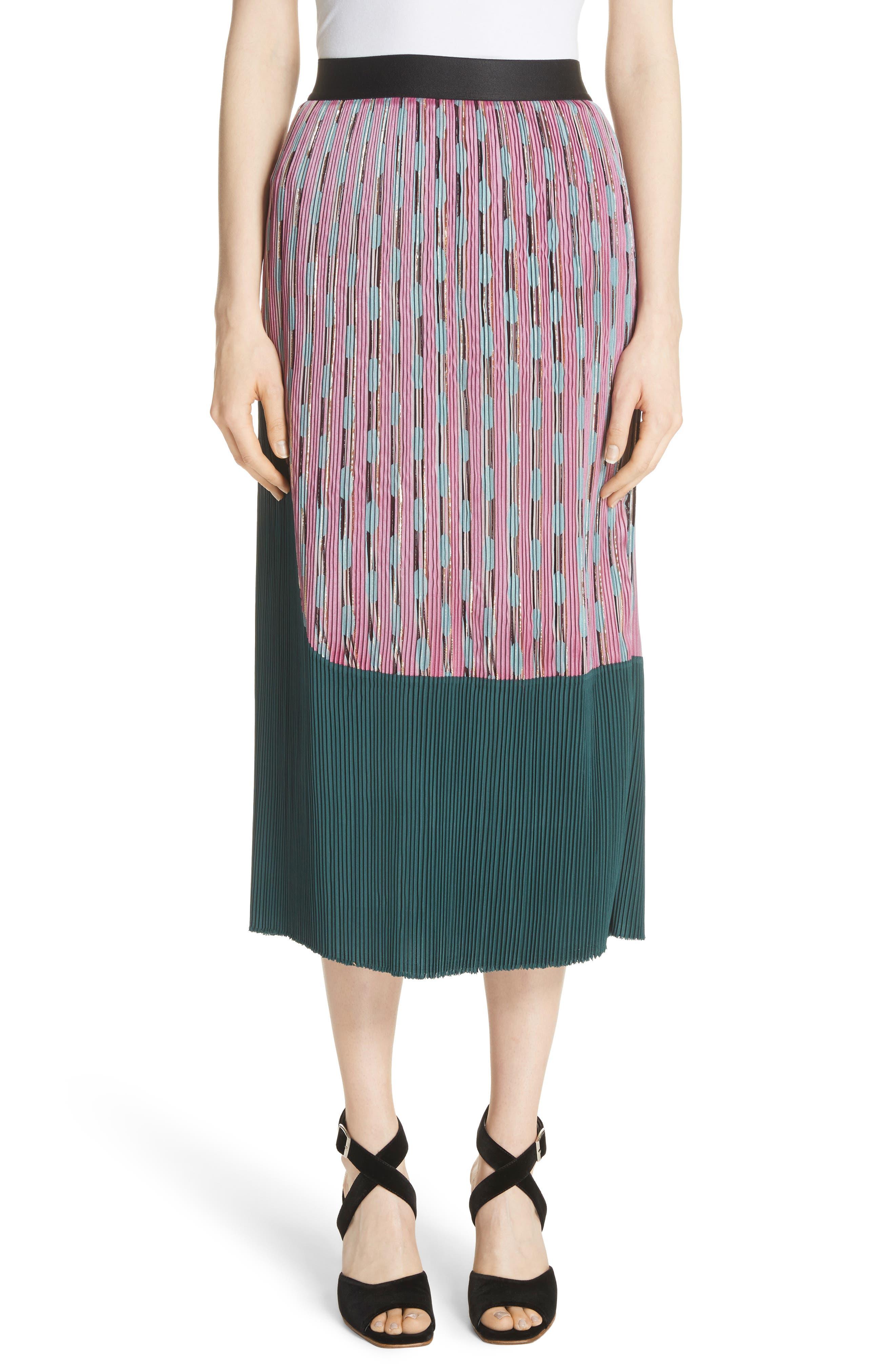 Ballista Midi Skirt,                         Main,                         color, Pink