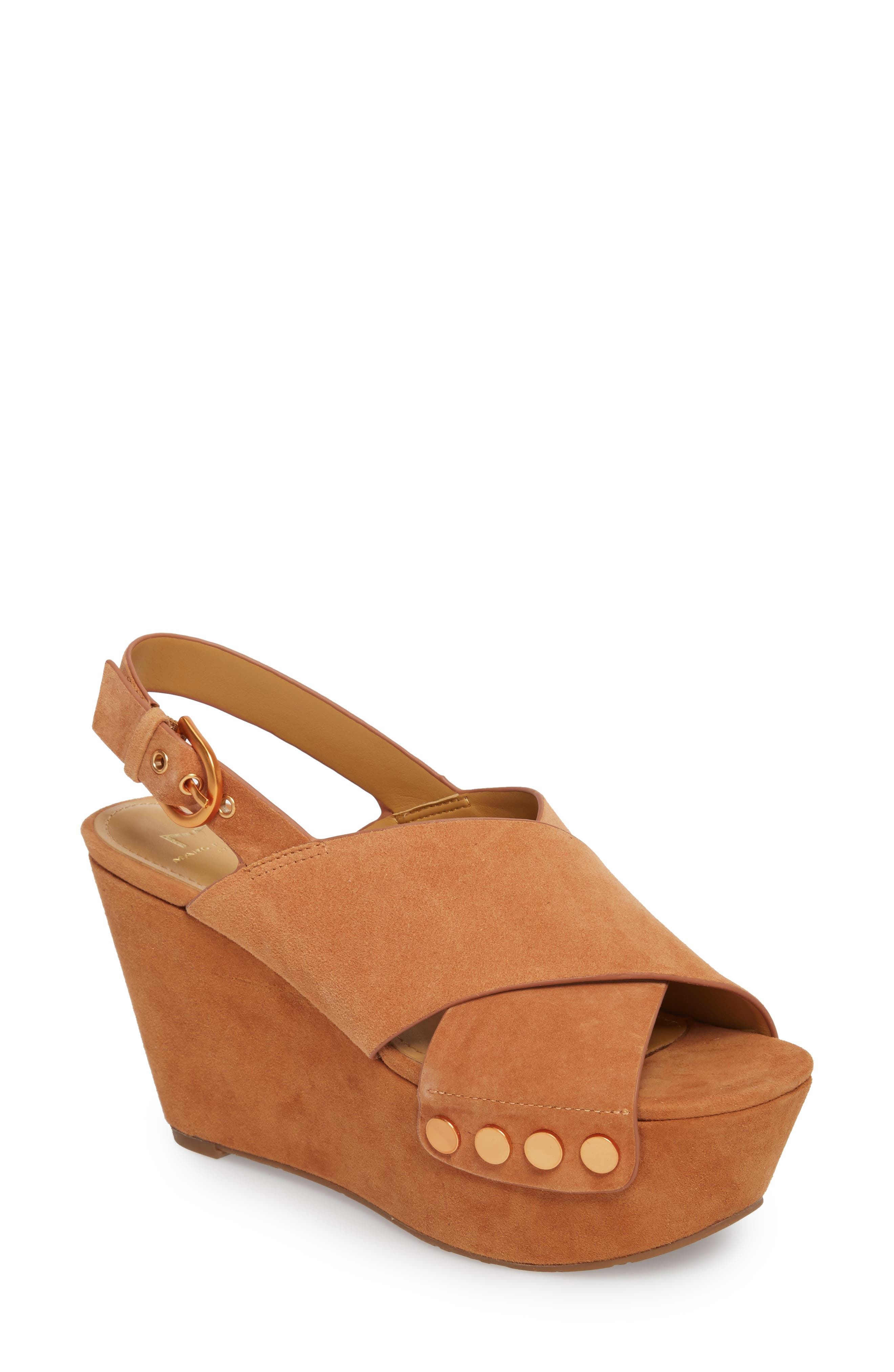 Marc Fisher LTD Barlow Wedge Sandal (Women)