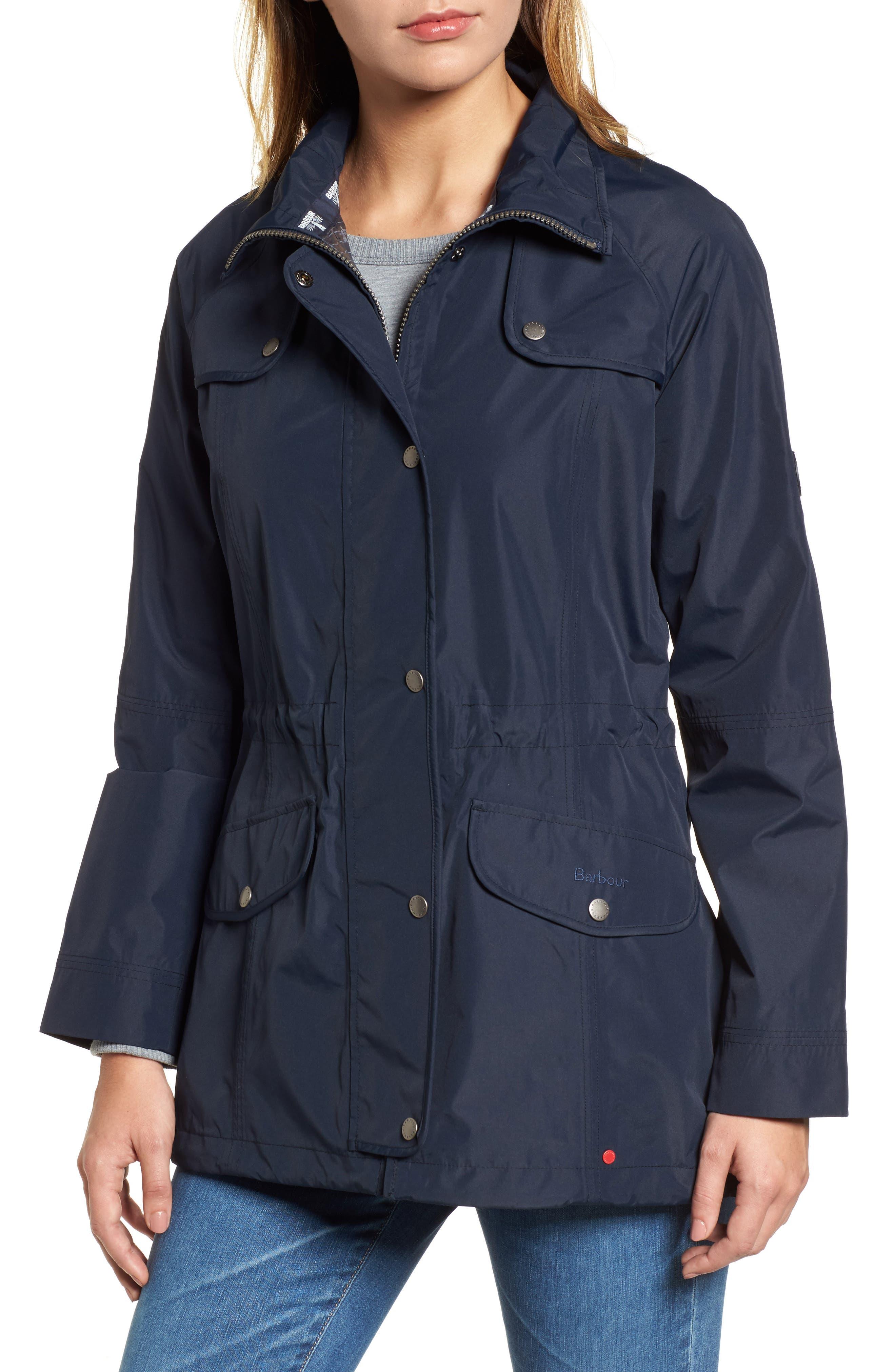 Trevose Hooded Jacket,                             Alternate thumbnail 4, color,                             Navy