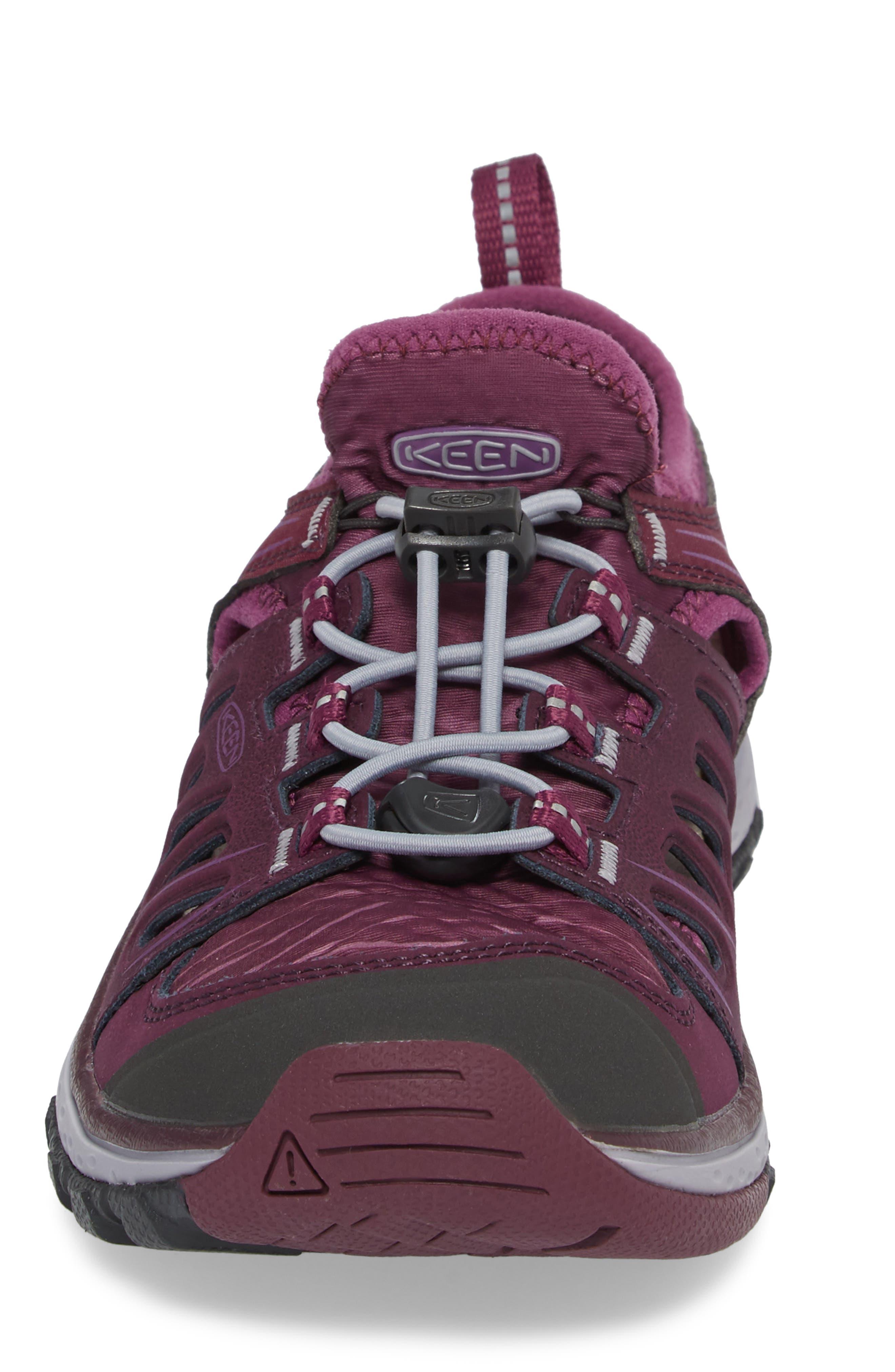 Terradora Ethos Hiking Sneaker,                             Alternate thumbnail 4, color,                             Grape Wine/ Grape Kiss