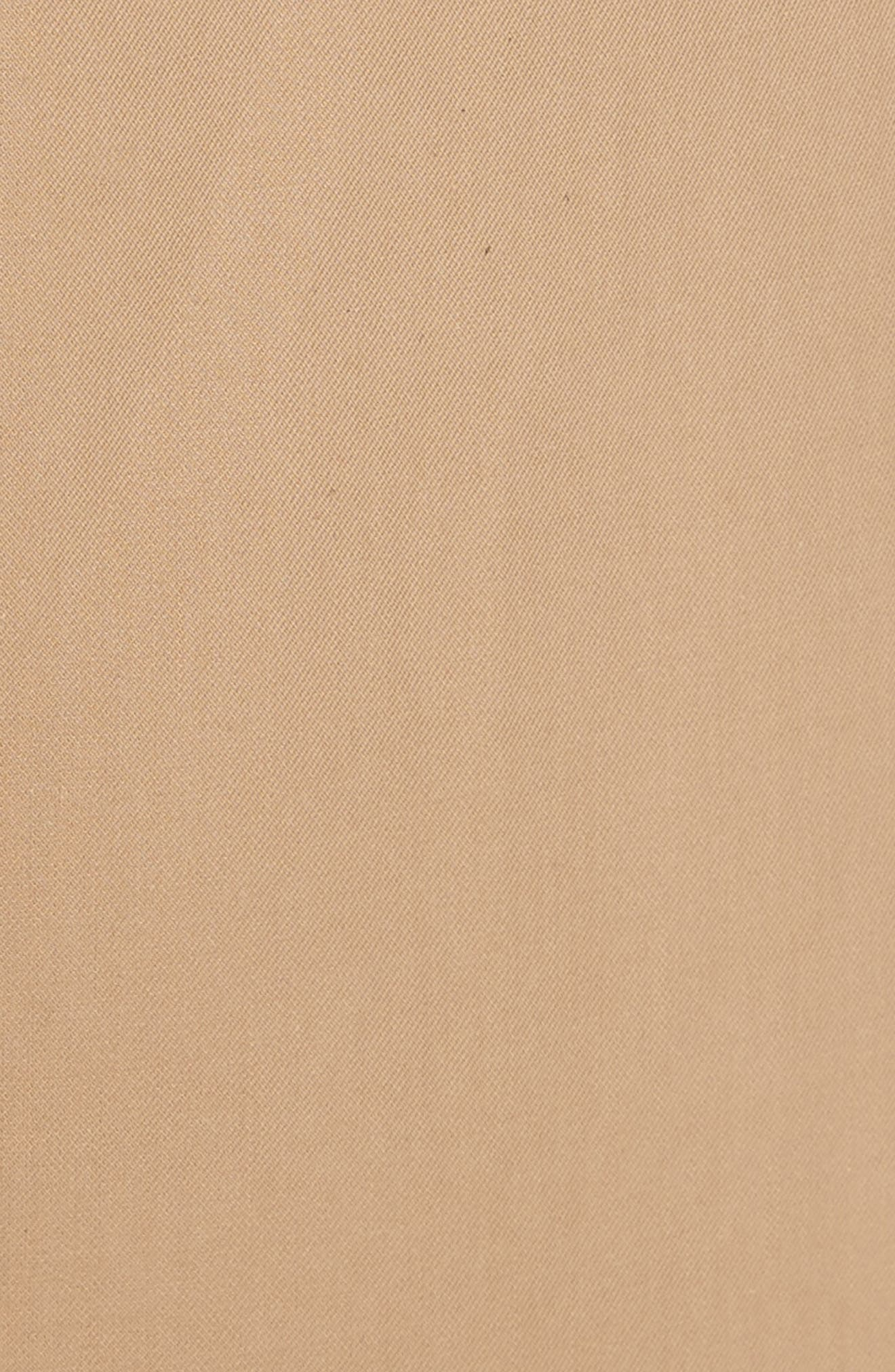Cotton Crop Pants,                             Alternate thumbnail 4, color,                             Camel