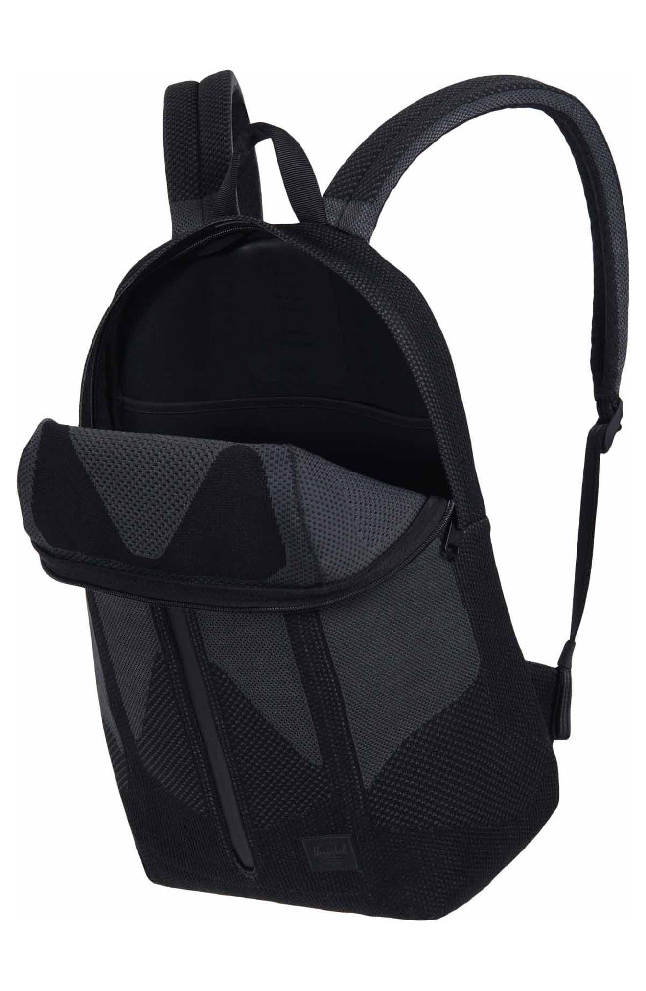 Apex Dayton Backpack,                             Alternate thumbnail 3, color,                             Black Beauty/ Dark Shadow