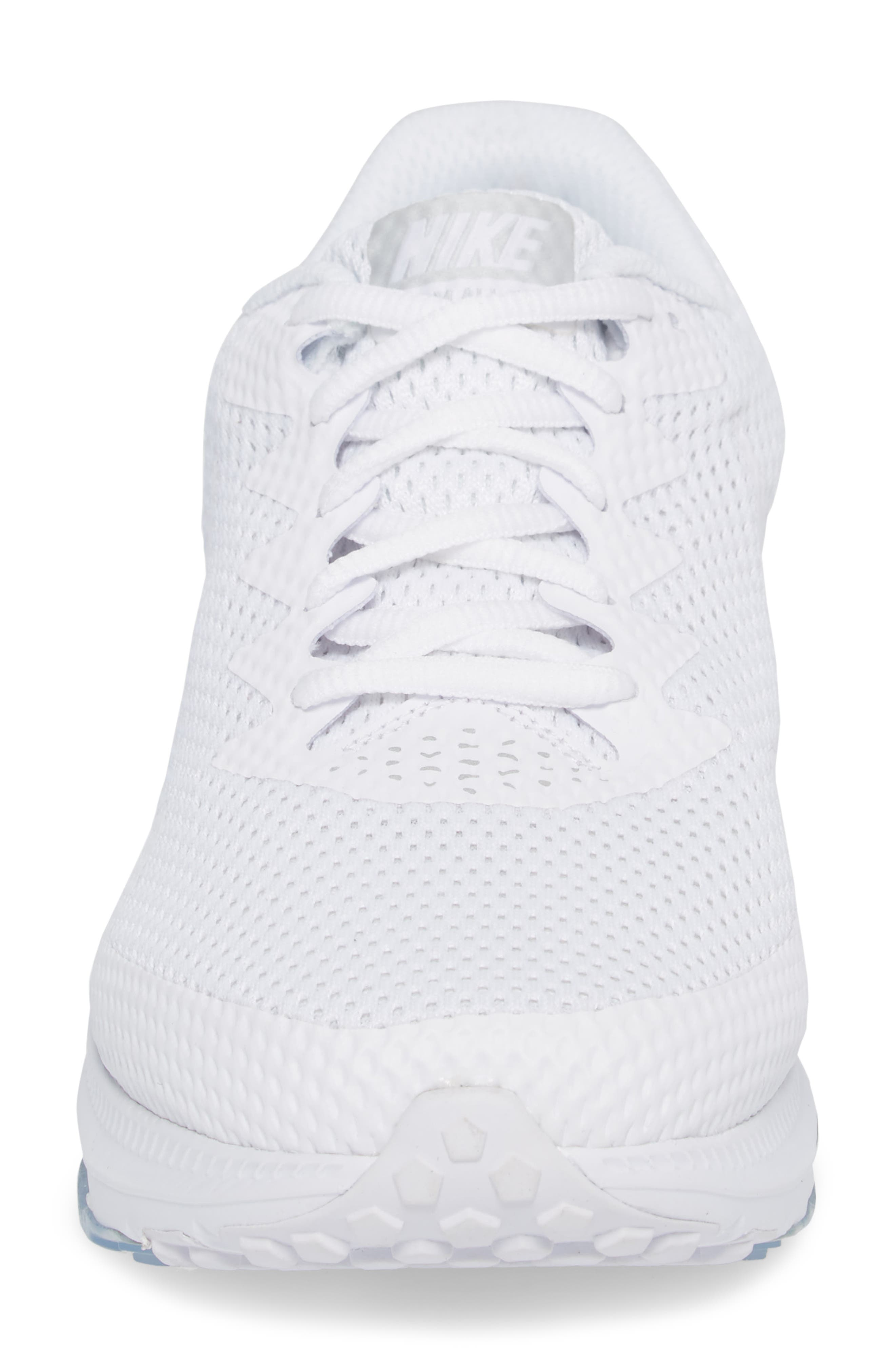 Zoom All Out Low 2 Running Shoe,                             Alternate thumbnail 4, color,                             White/ White/ Off White