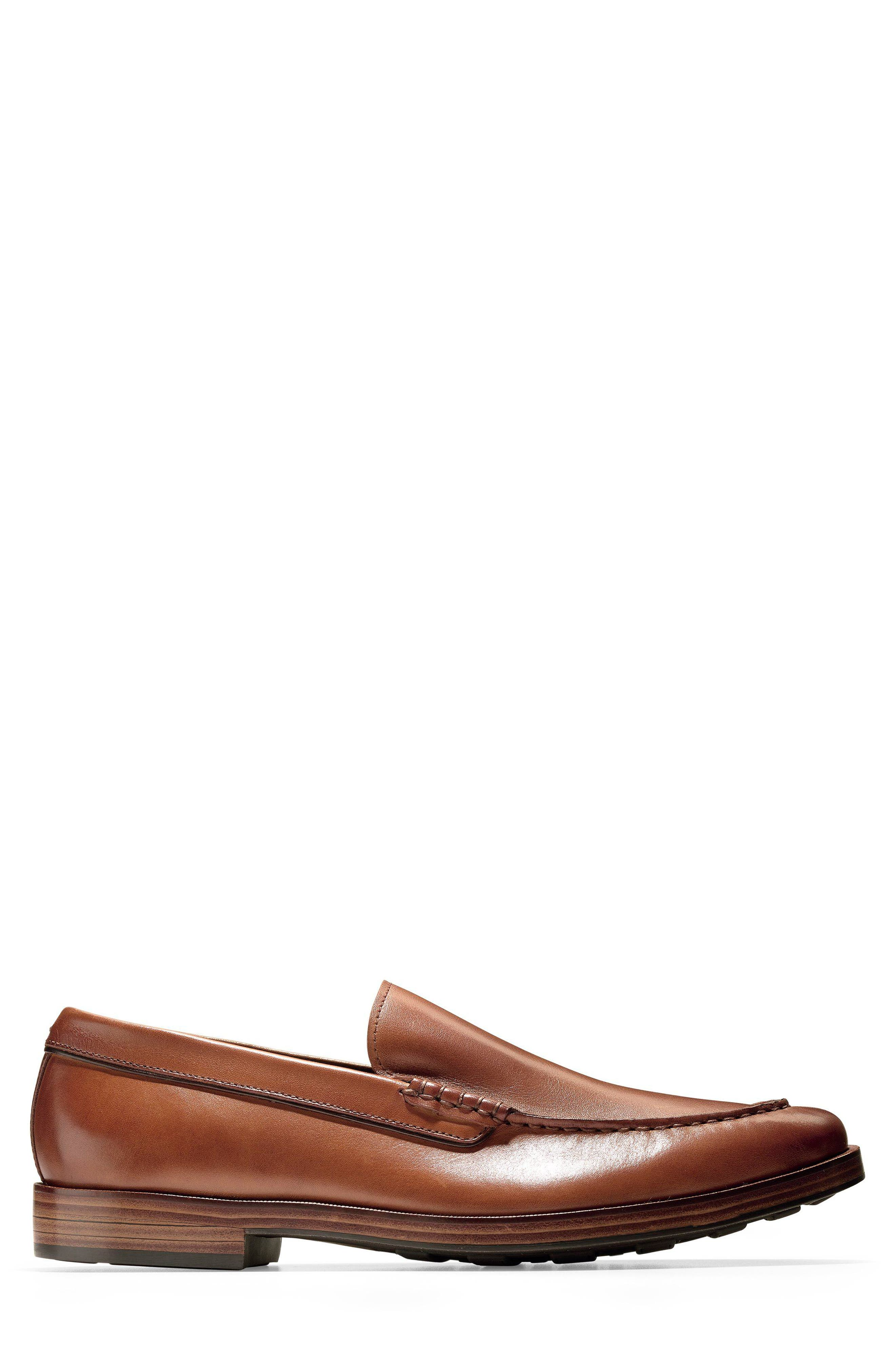 Hamilton Grand Venetian Loafer,                             Alternate thumbnail 3, color,                             British Tan