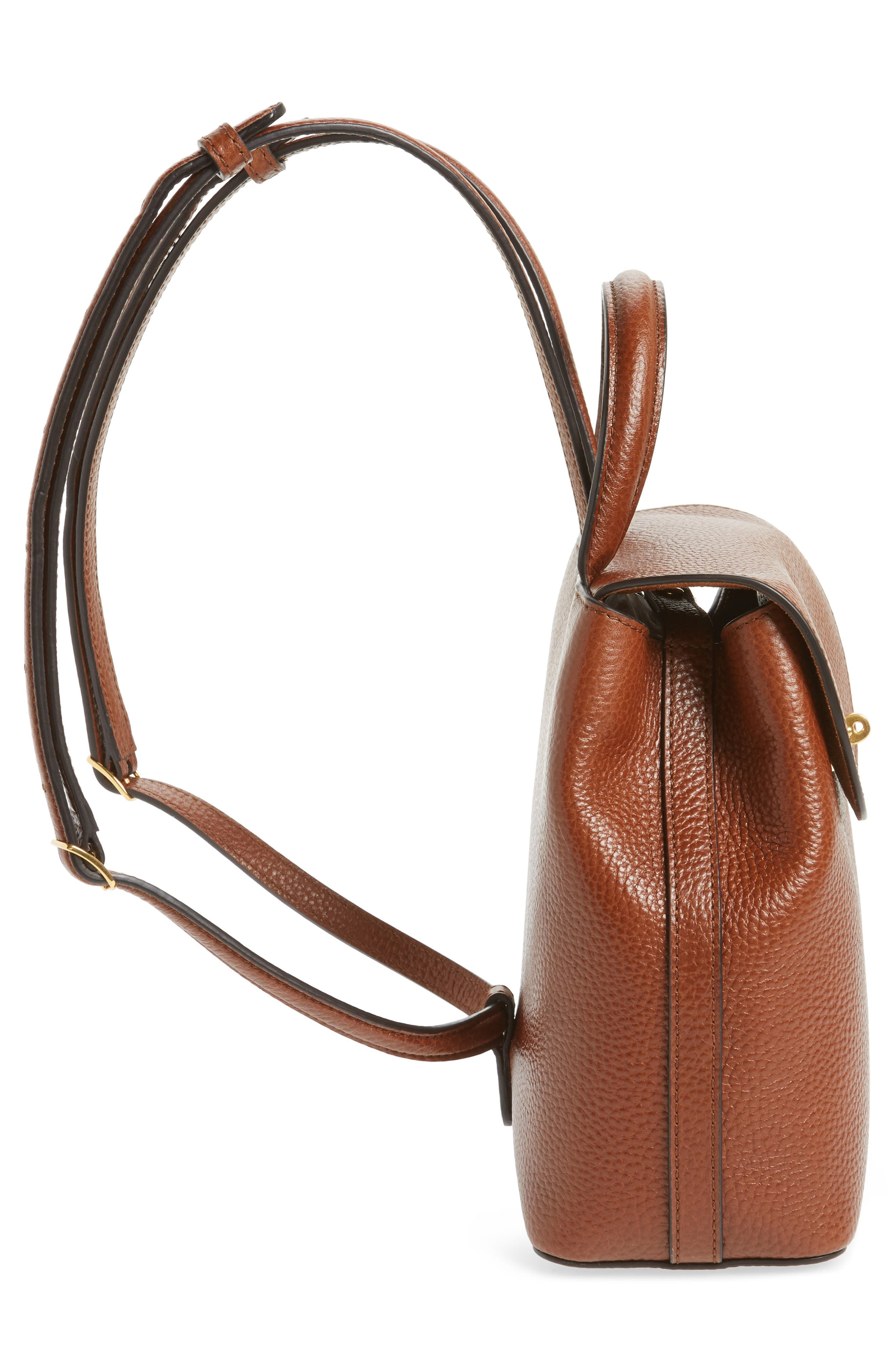 Alternate Image 5  - Mulberry Mini Bayswater Calfskin Leather Convertible Backpack