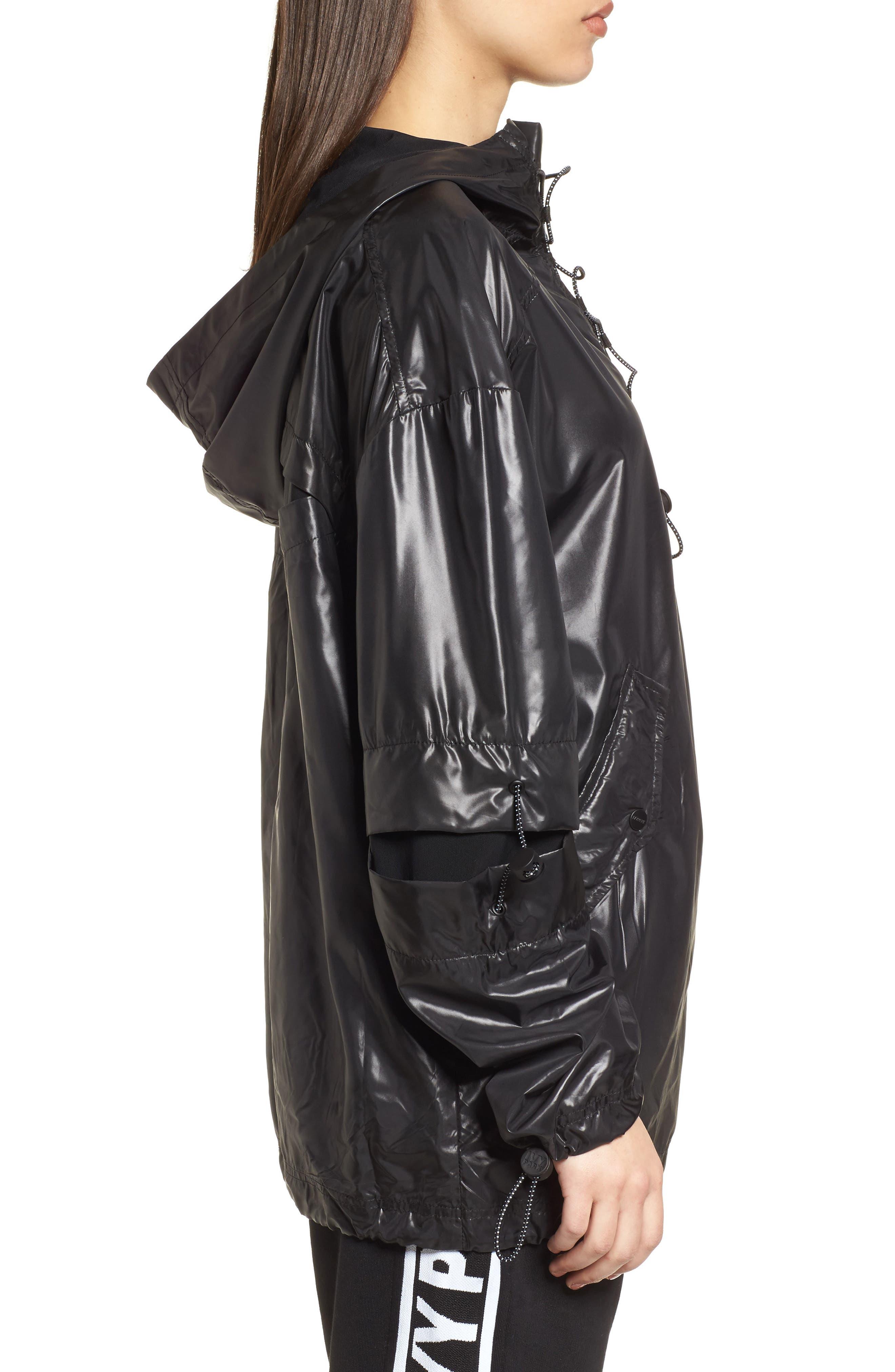 Alternate Image 3  - IVY PARK® Hi Shine Lace-Up Jacket