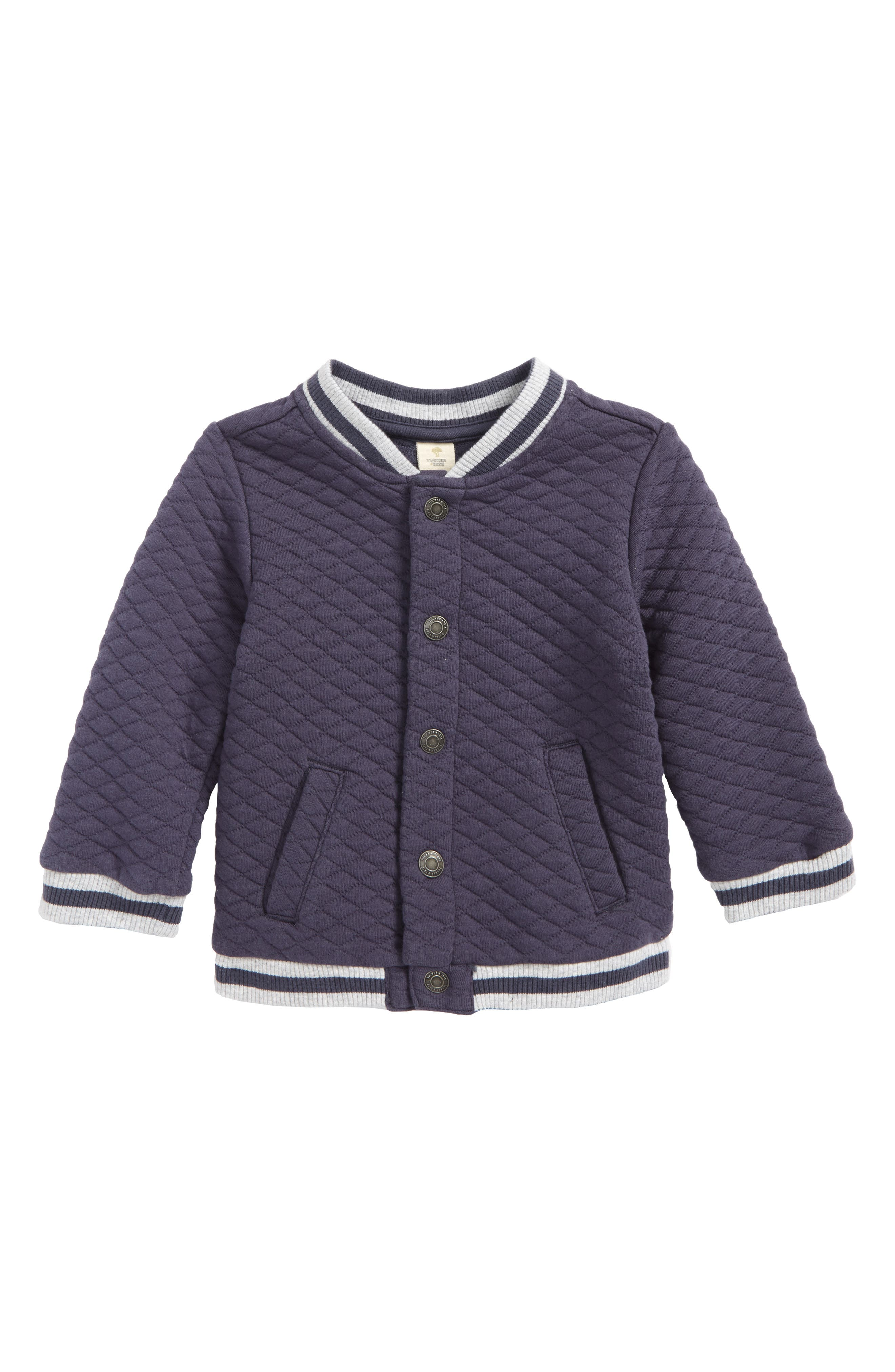 Alternate Image 1 Selected - Tucker + Tate Quilted Baseball Jacket (Baby Boys)