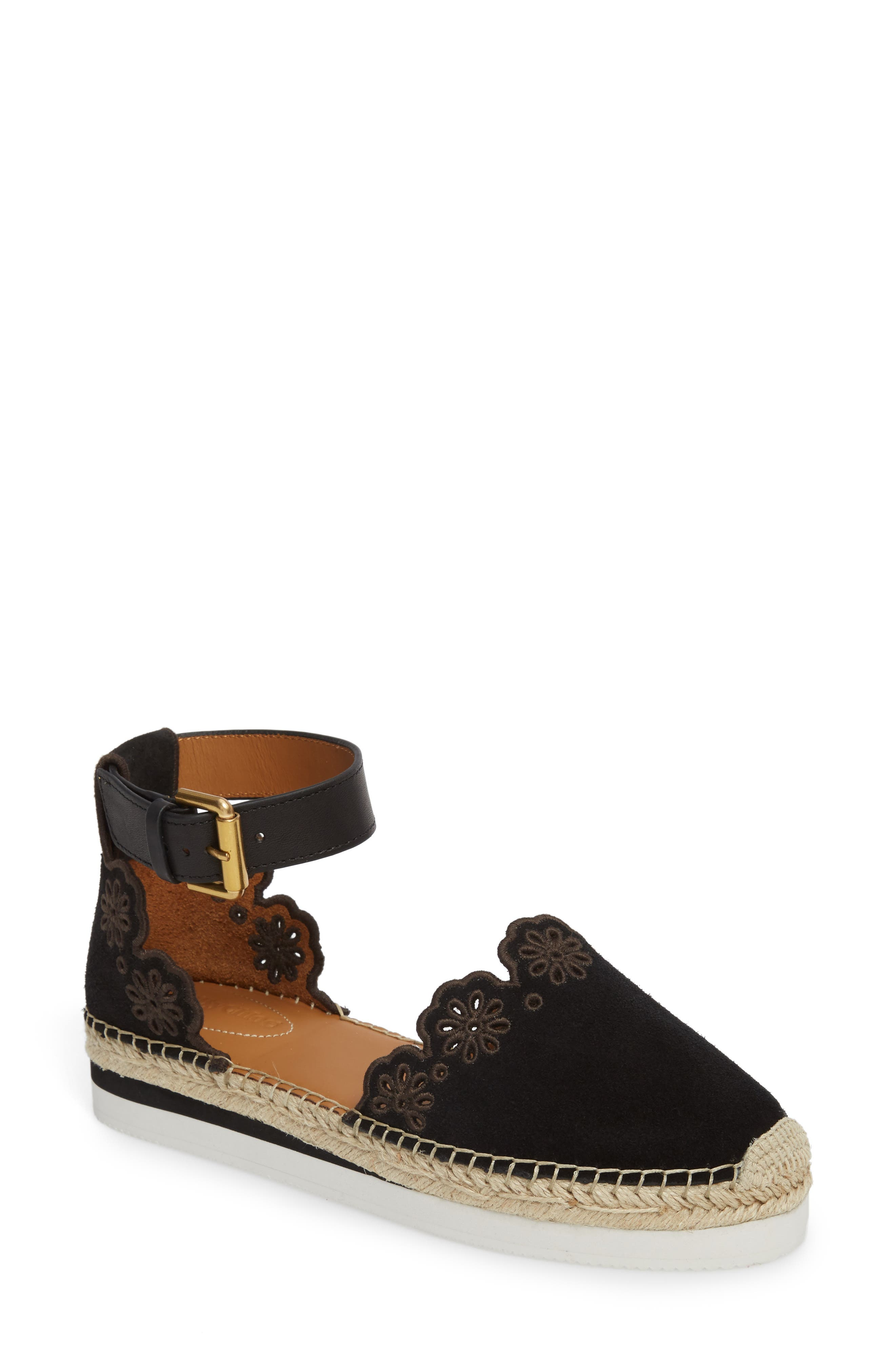Main Image - See by Chloé Glyn Espadrille Sandal (Women)