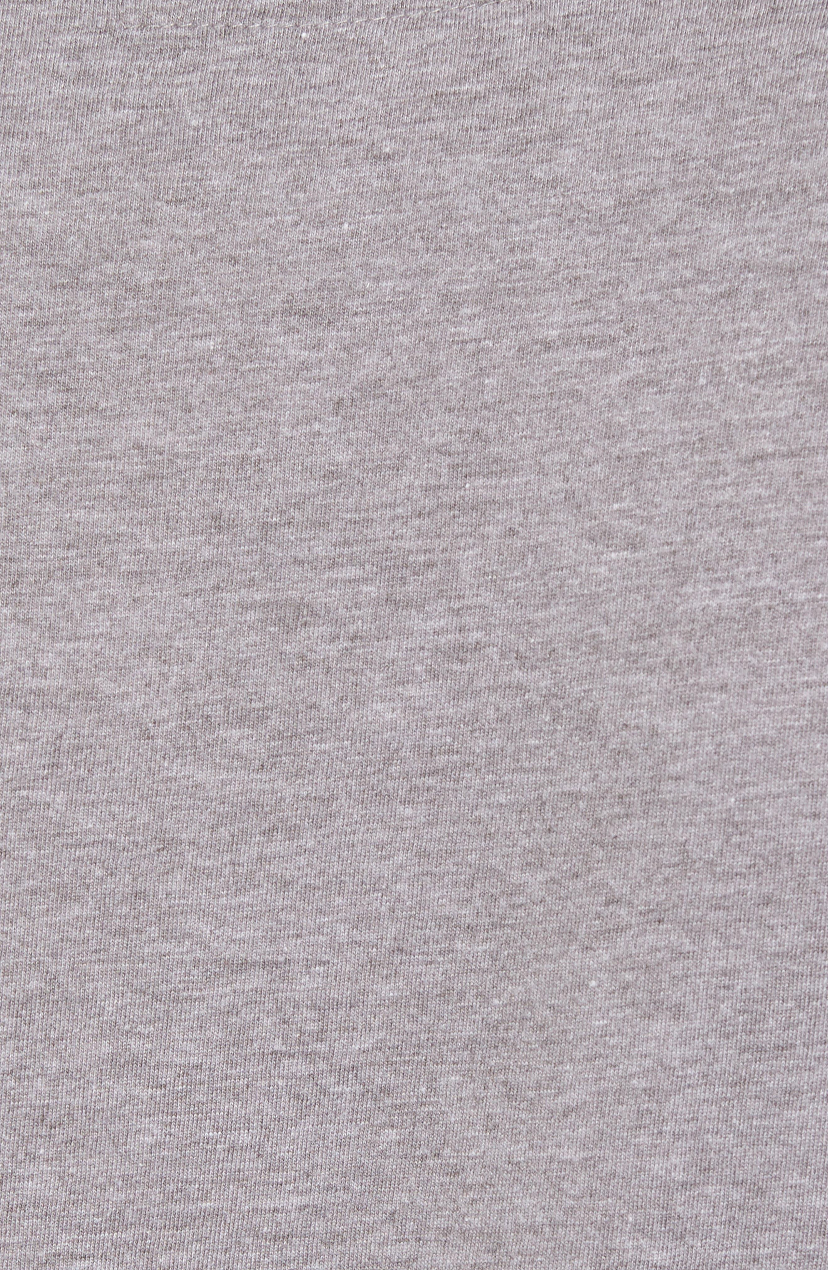 Crosby Chicago Blackhawks T-Shirt,                             Alternate thumbnail 5, color,                             Heather Grey