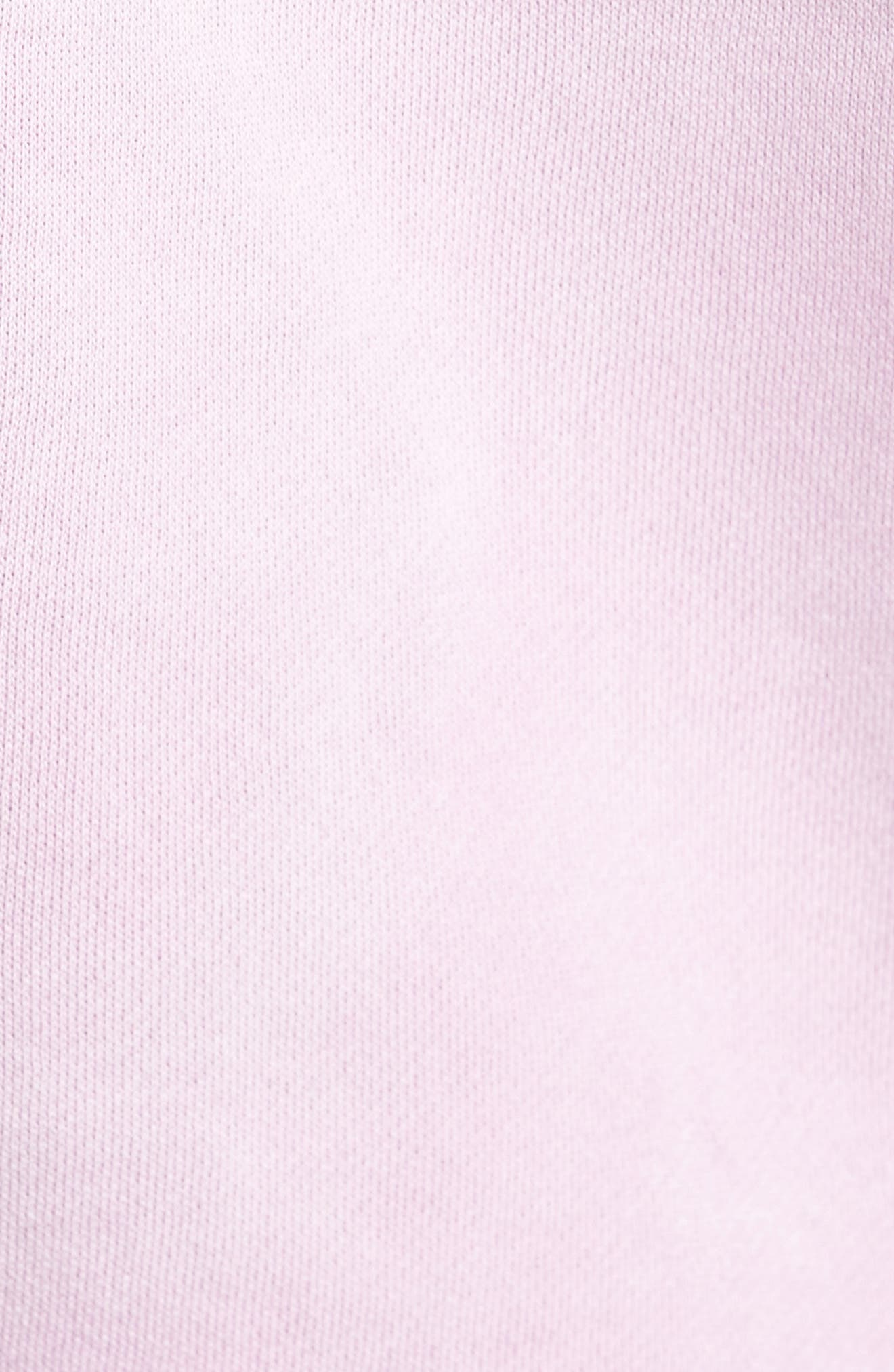 Jumble Lo-Fi Pigment Dyed Hoodie,                             Alternate thumbnail 5, color,                             Dusty Lavender