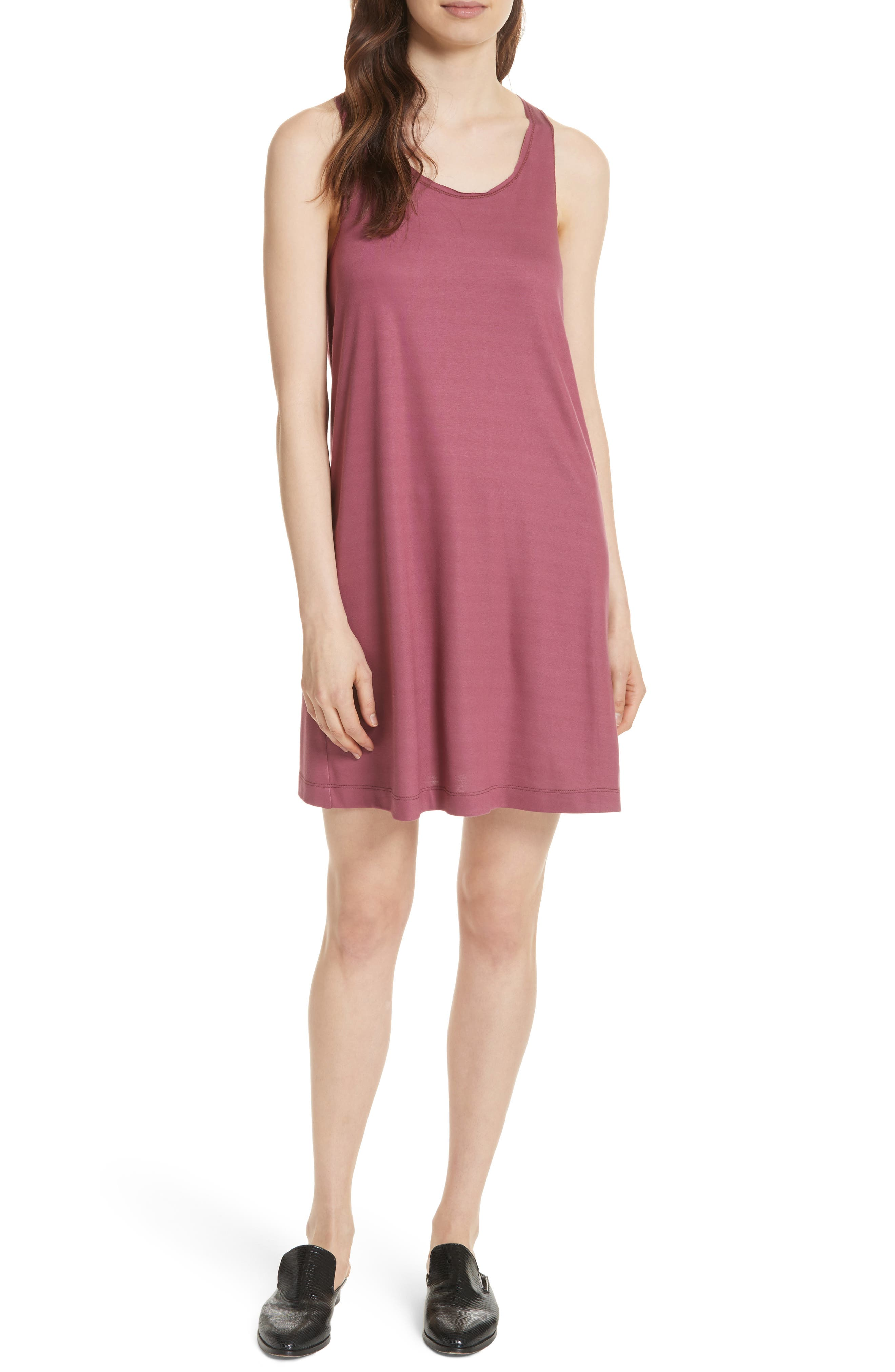 Twenty Drummond Twist Back Jersey Tank Dress