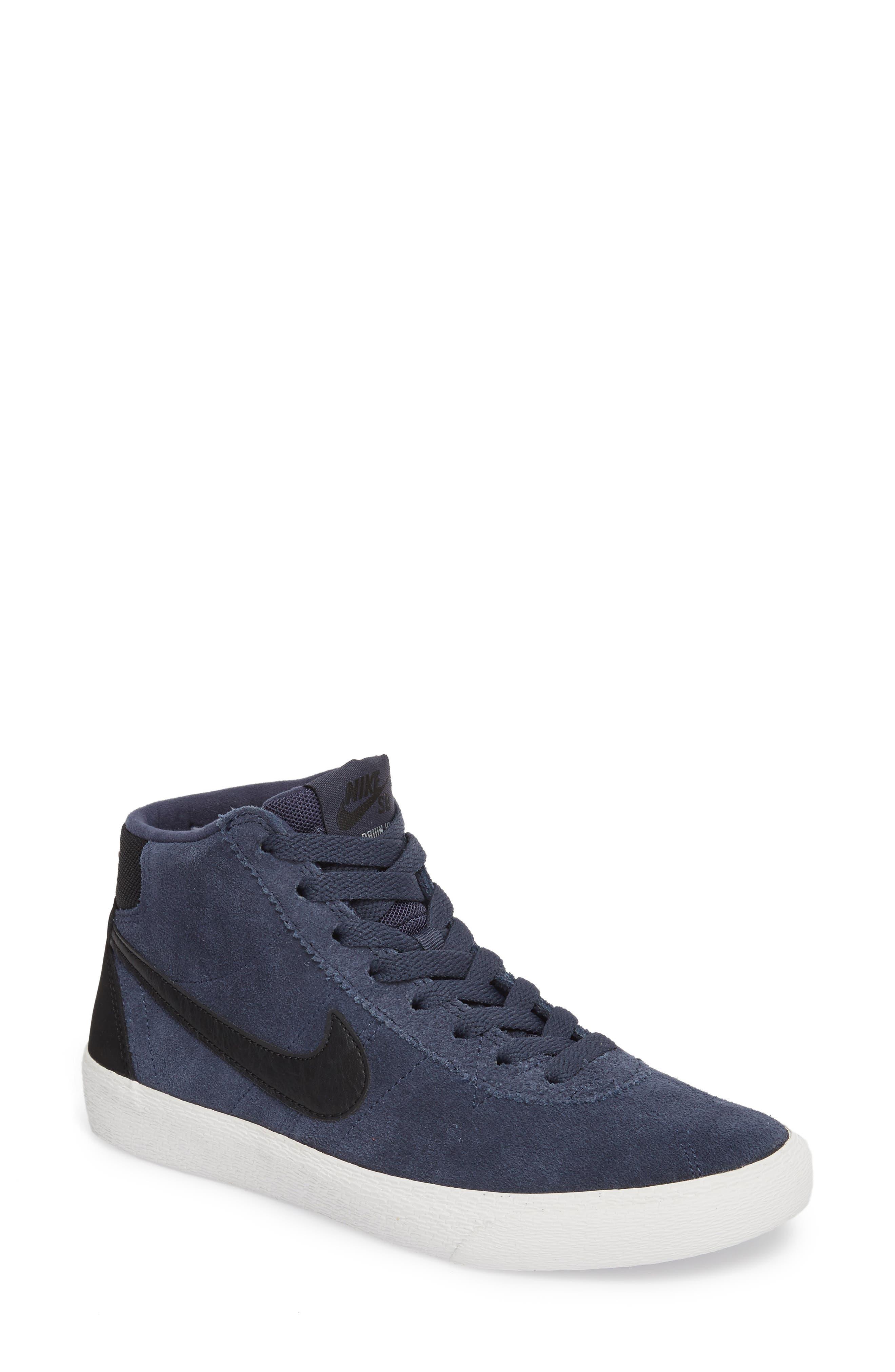 Nike SB Bruin Hi Skateboarding Sneaker (Women)